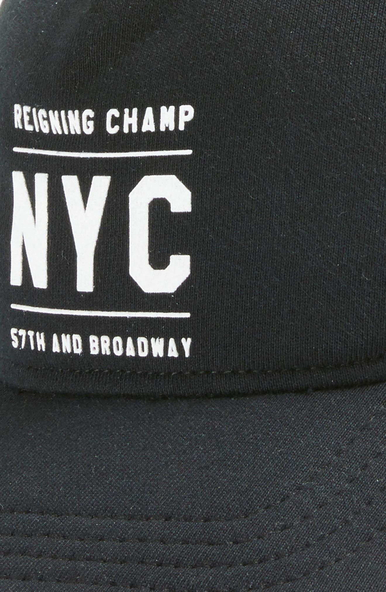 Logo Baseball Cap,                             Alternate thumbnail 3, color,                             001