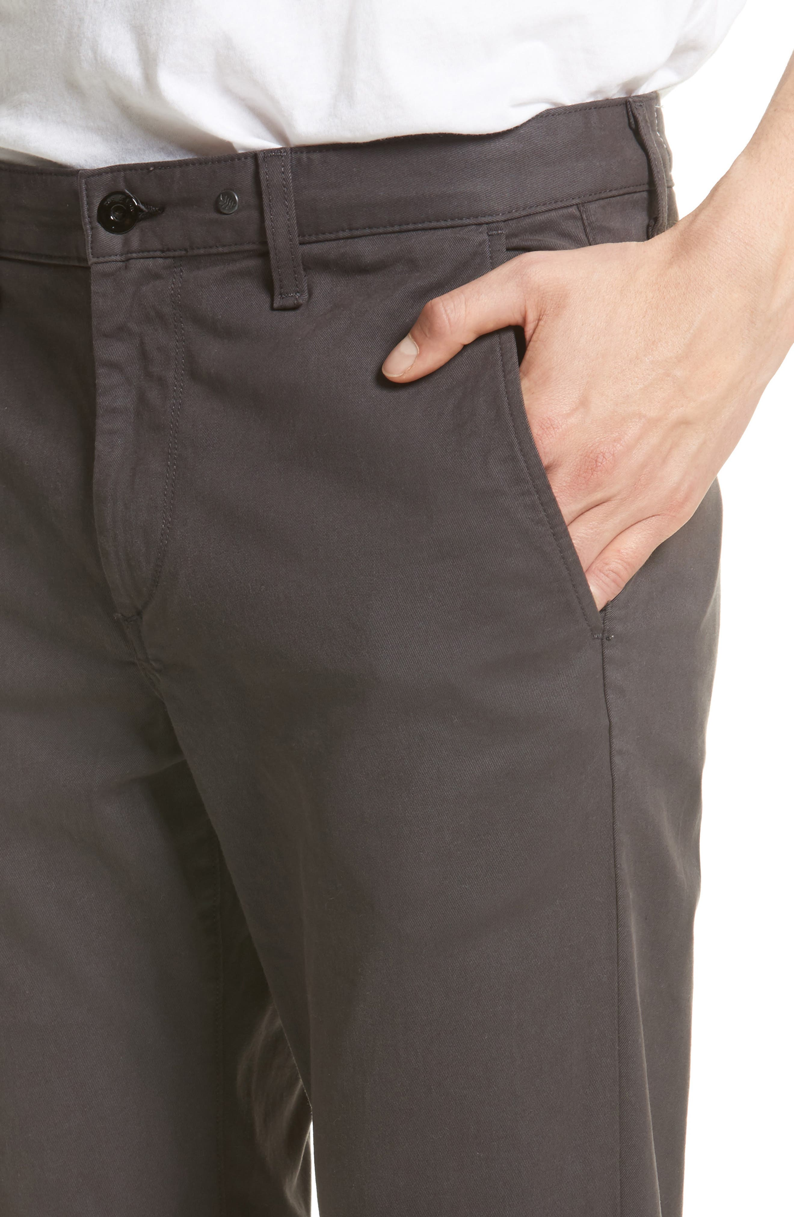 Fit 1 Chinos,                             Alternate thumbnail 4, color,                             GREY