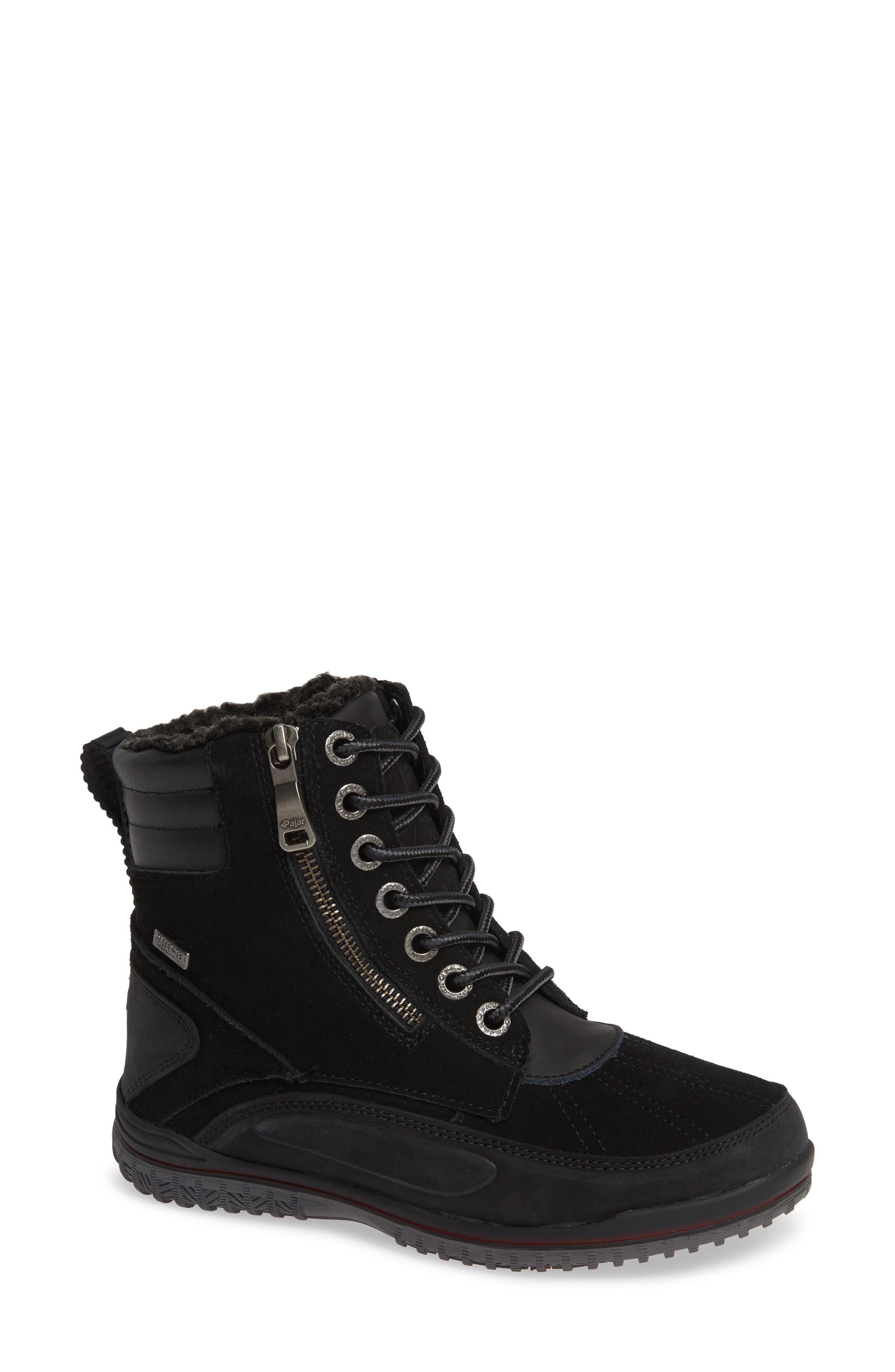 Pajar Jeana Waterproof Winter Boot, Black