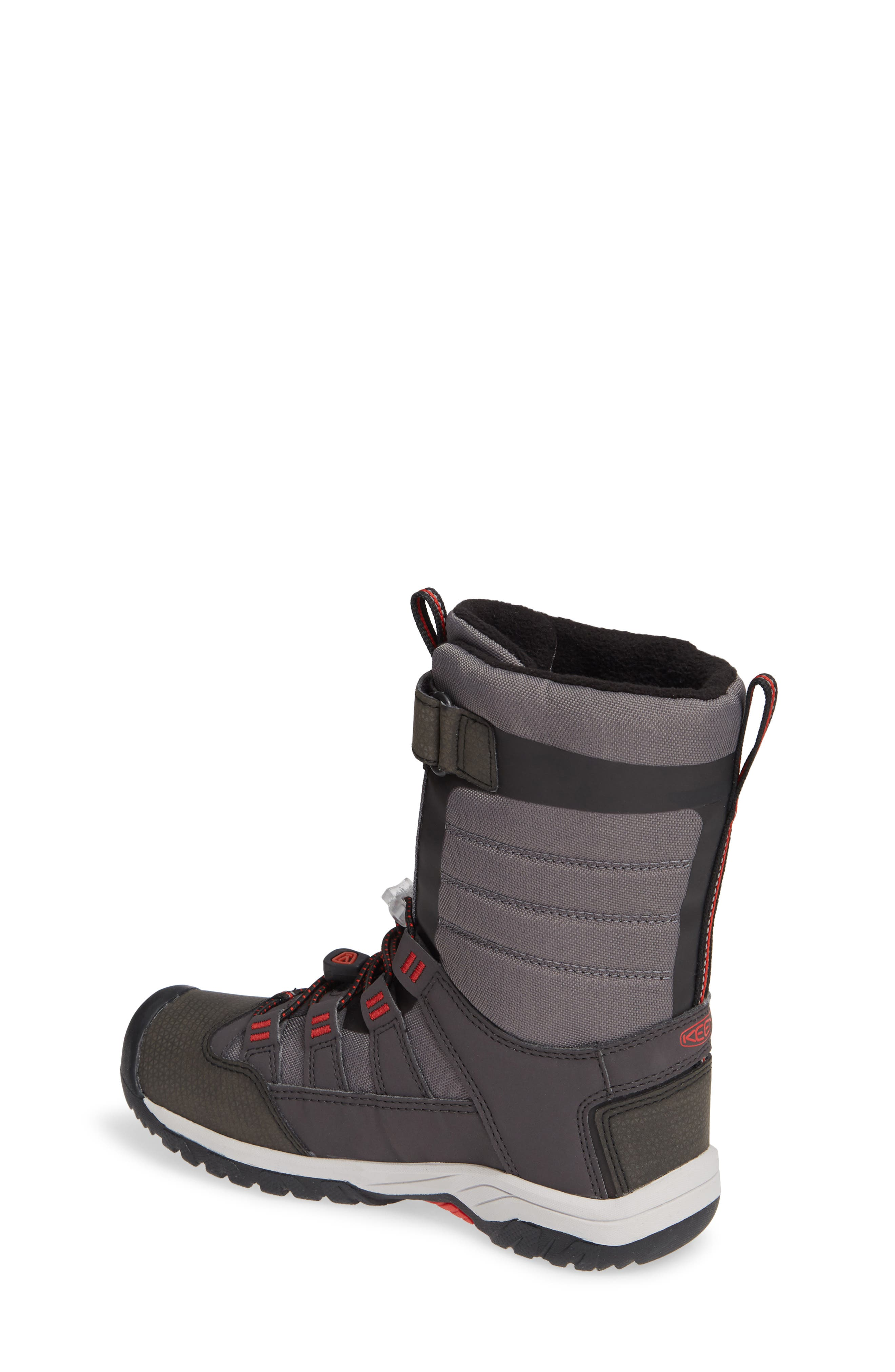 Winterport Neo Waterproof Insulated Boot,                             Alternate thumbnail 2, color,                             MAGNET/ FIREY RED