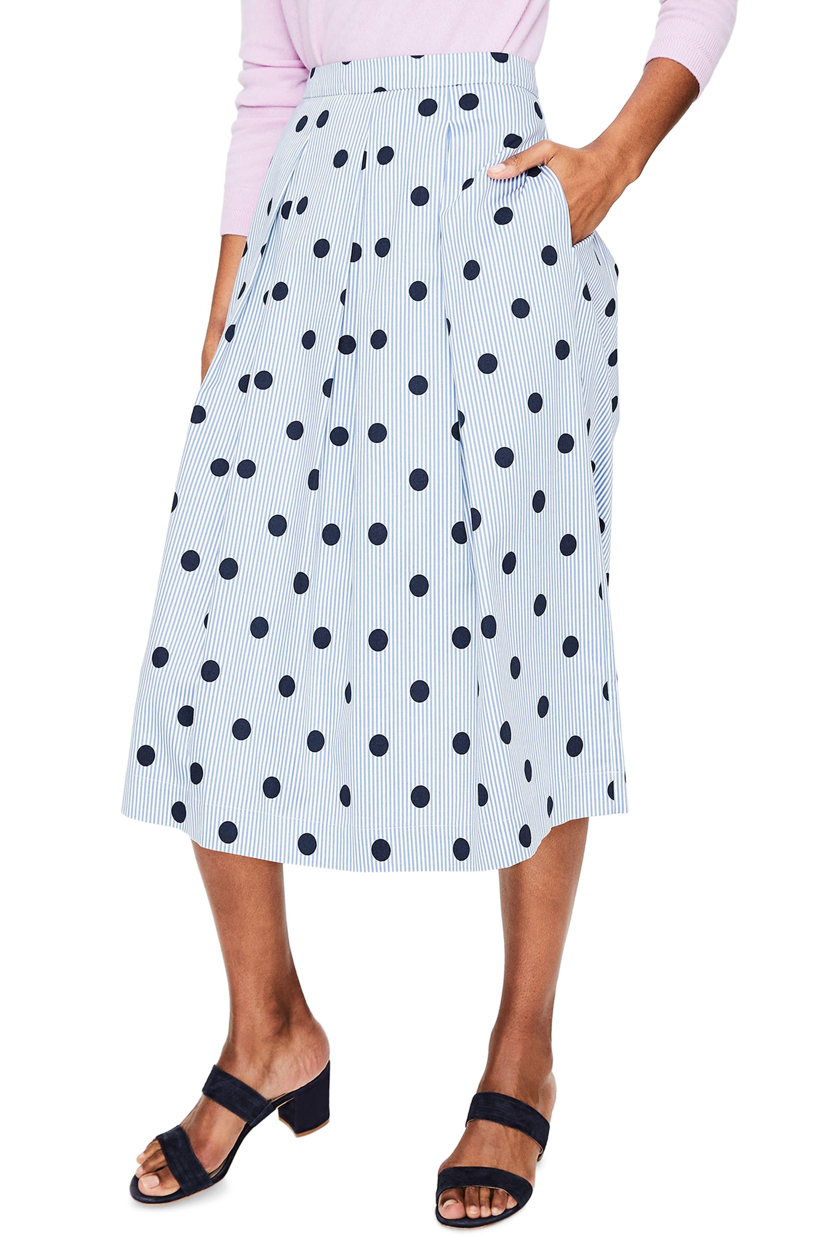 Lola Floral Flared Skirt,                             Main thumbnail 3, color,