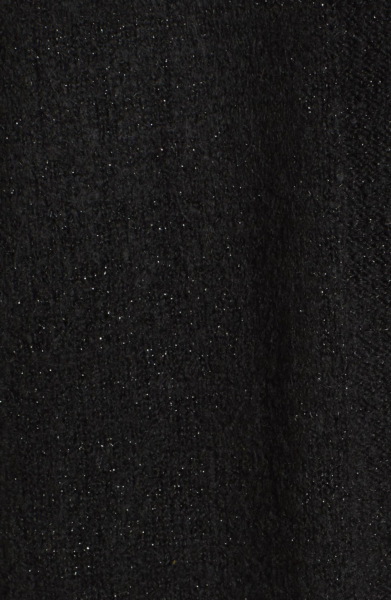 Cardigan Sweater,                             Alternate thumbnail 5, color,                             001