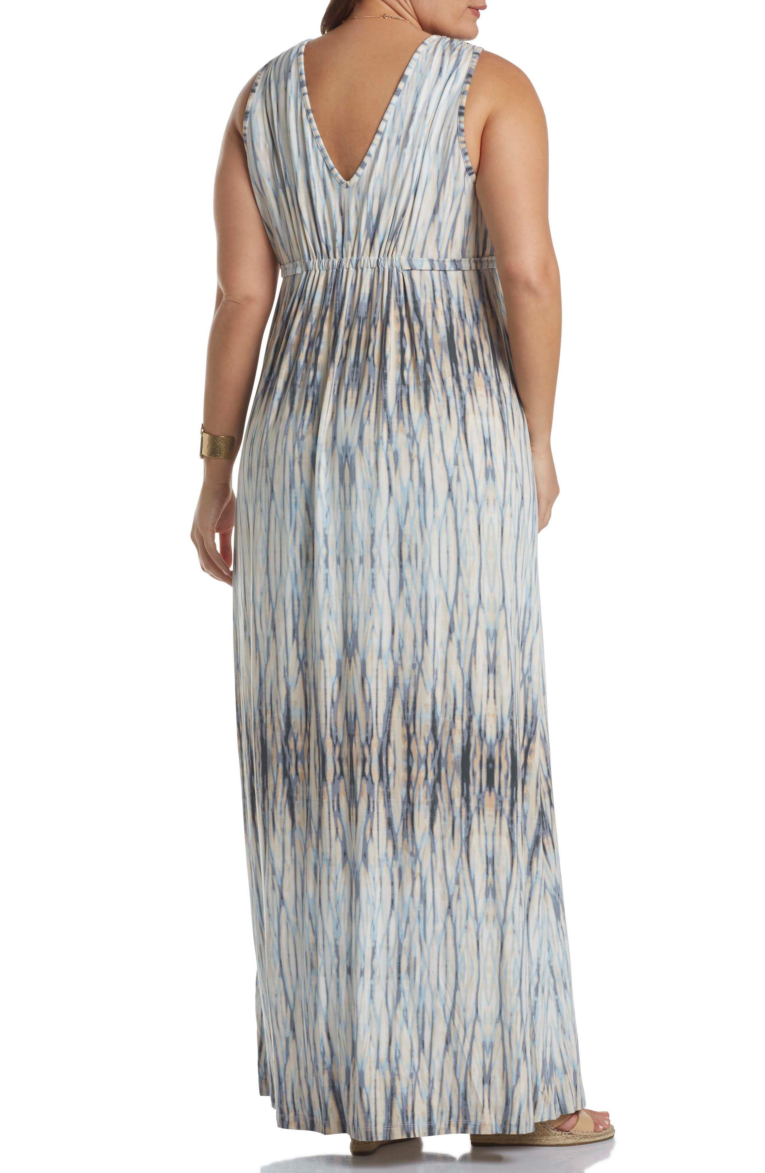 Grecia Sleeveless Jersey Maxi Dress,                             Alternate thumbnail 16, color,