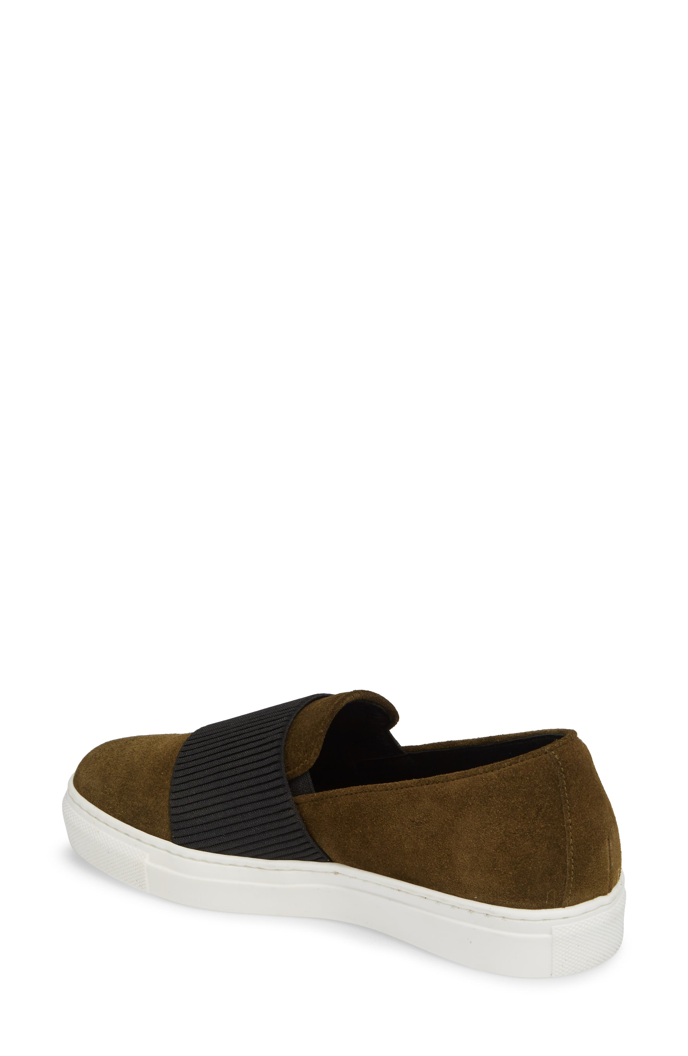 Otto Slip-On Sneaker,                             Alternate thumbnail 2, color,                             MILITARY PRINT SUEDE