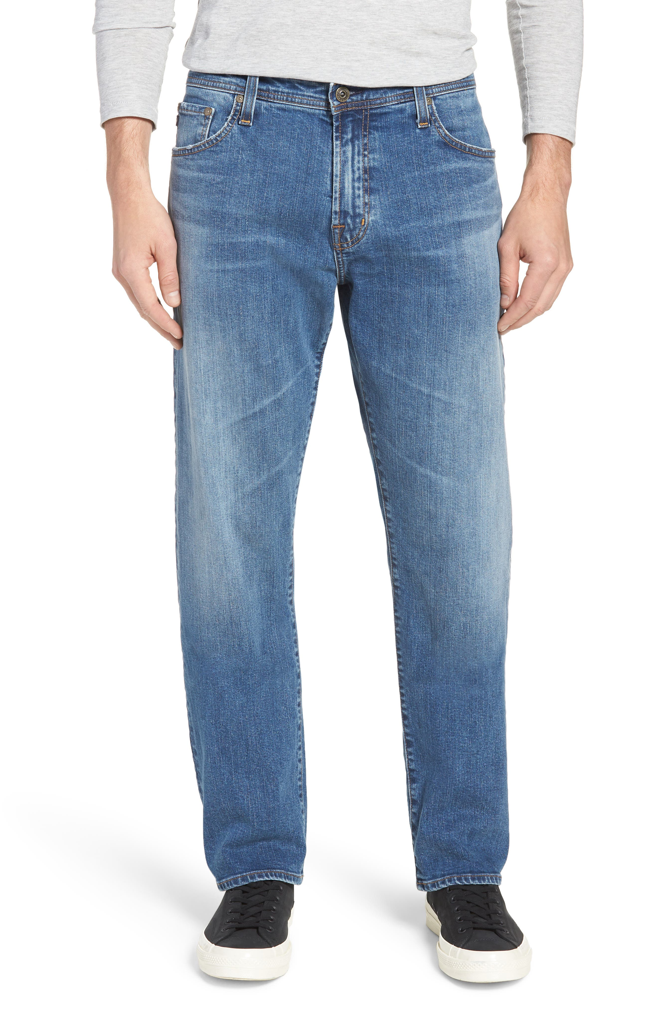 Ives Straight Leg Jeans,                         Main,                         color, 485