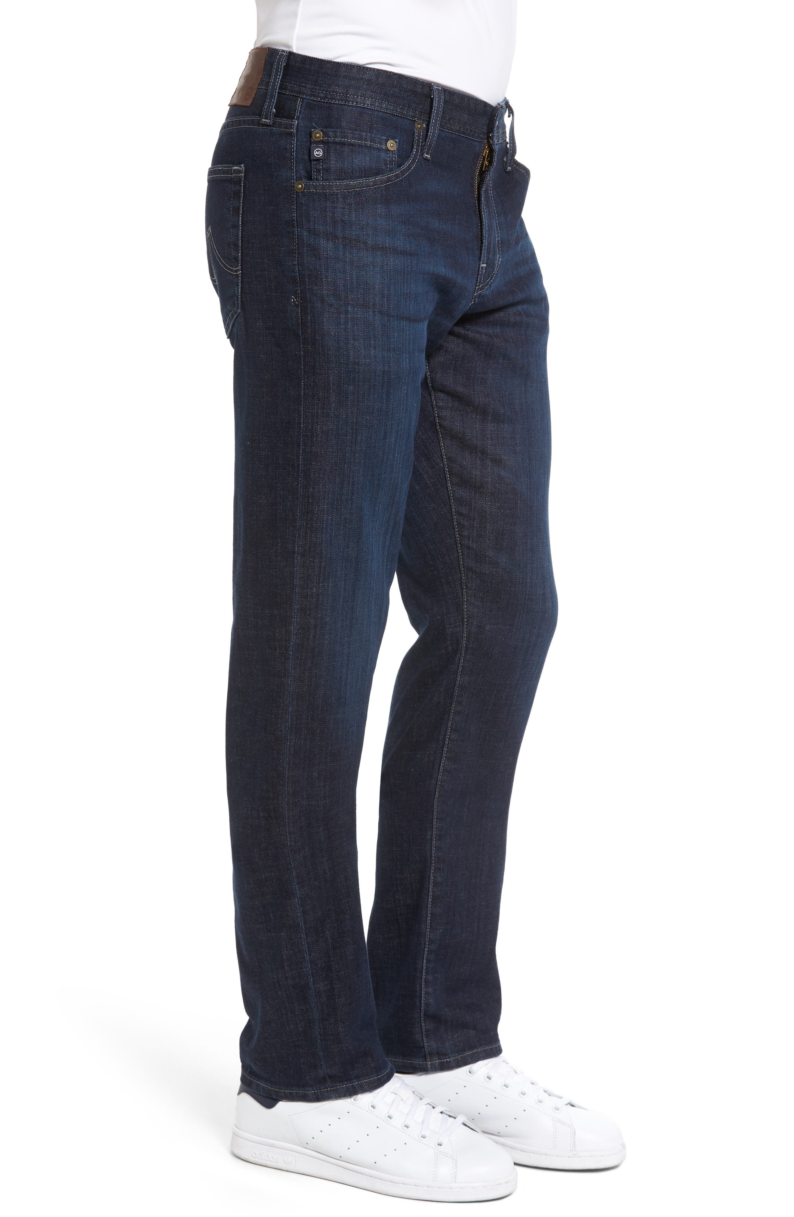 Graduate Slim Straight Leg Jeans,                             Alternate thumbnail 3, color,                             472