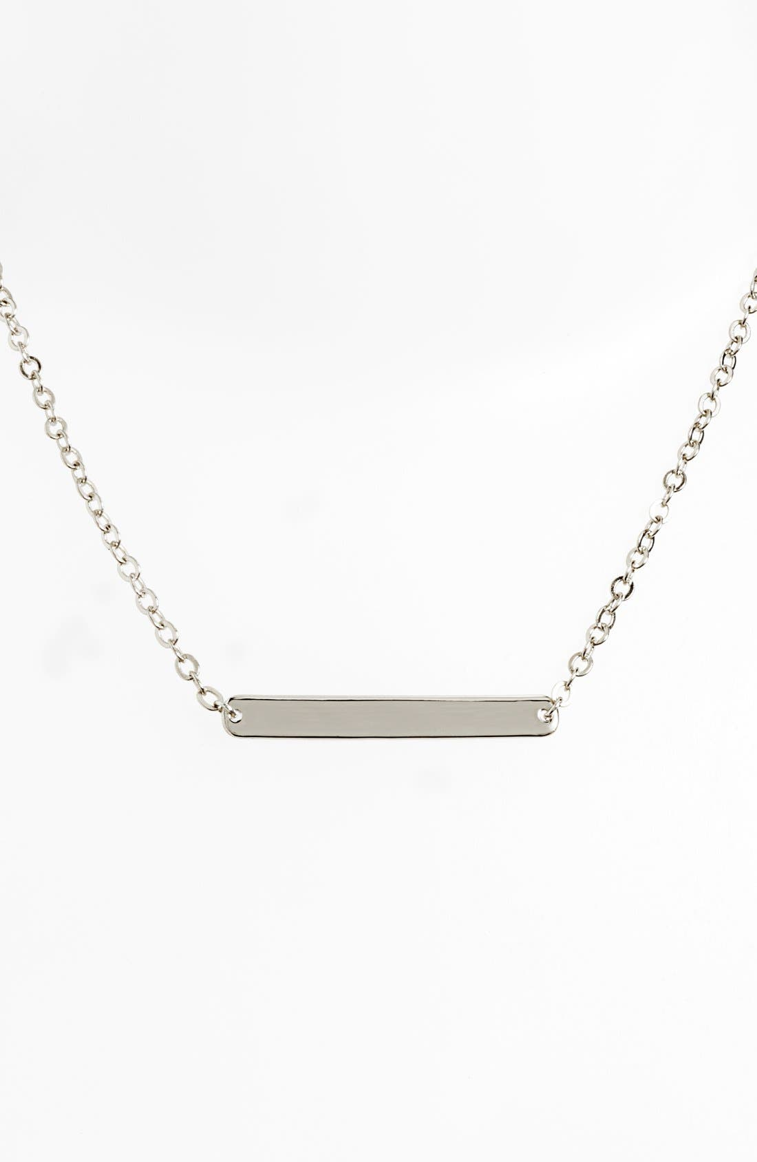 Bar Pendant Necklace,                             Alternate thumbnail 2, color,                             040