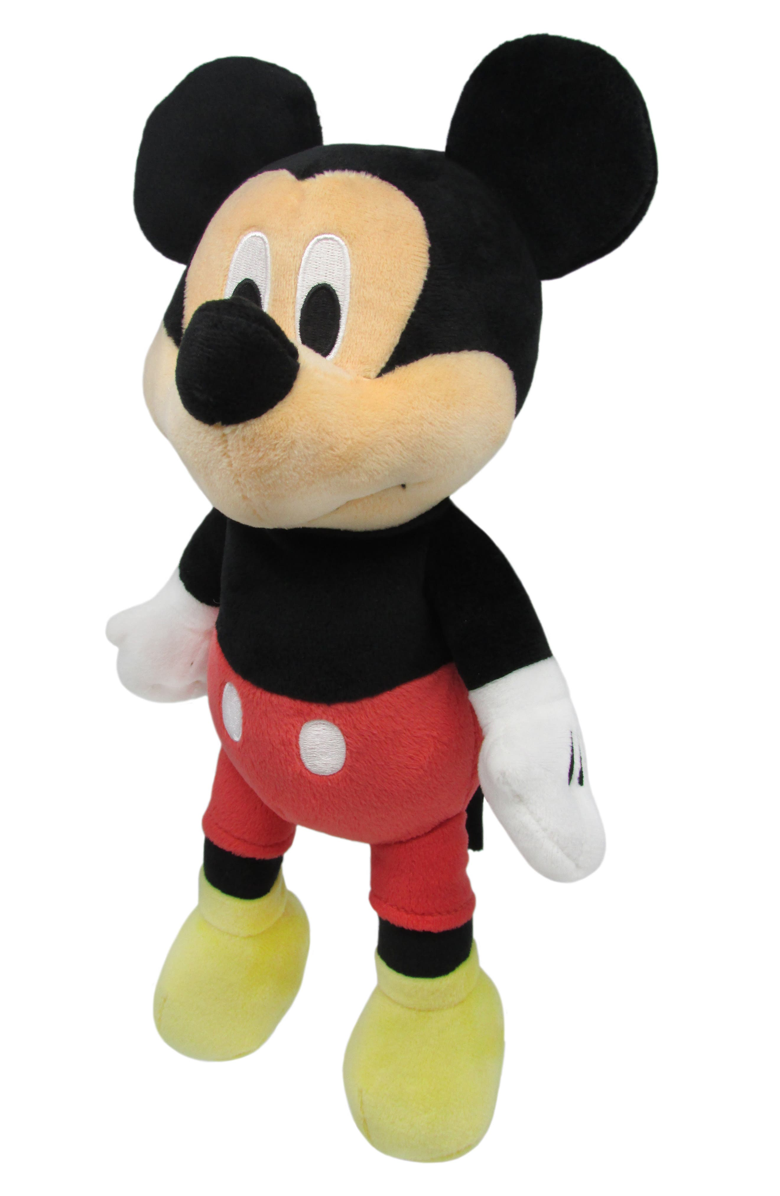 KIDS PREFERRED,                             Mickey Mouse Plush Toy,                             Main thumbnail 1, color,                             MULTICOLOR