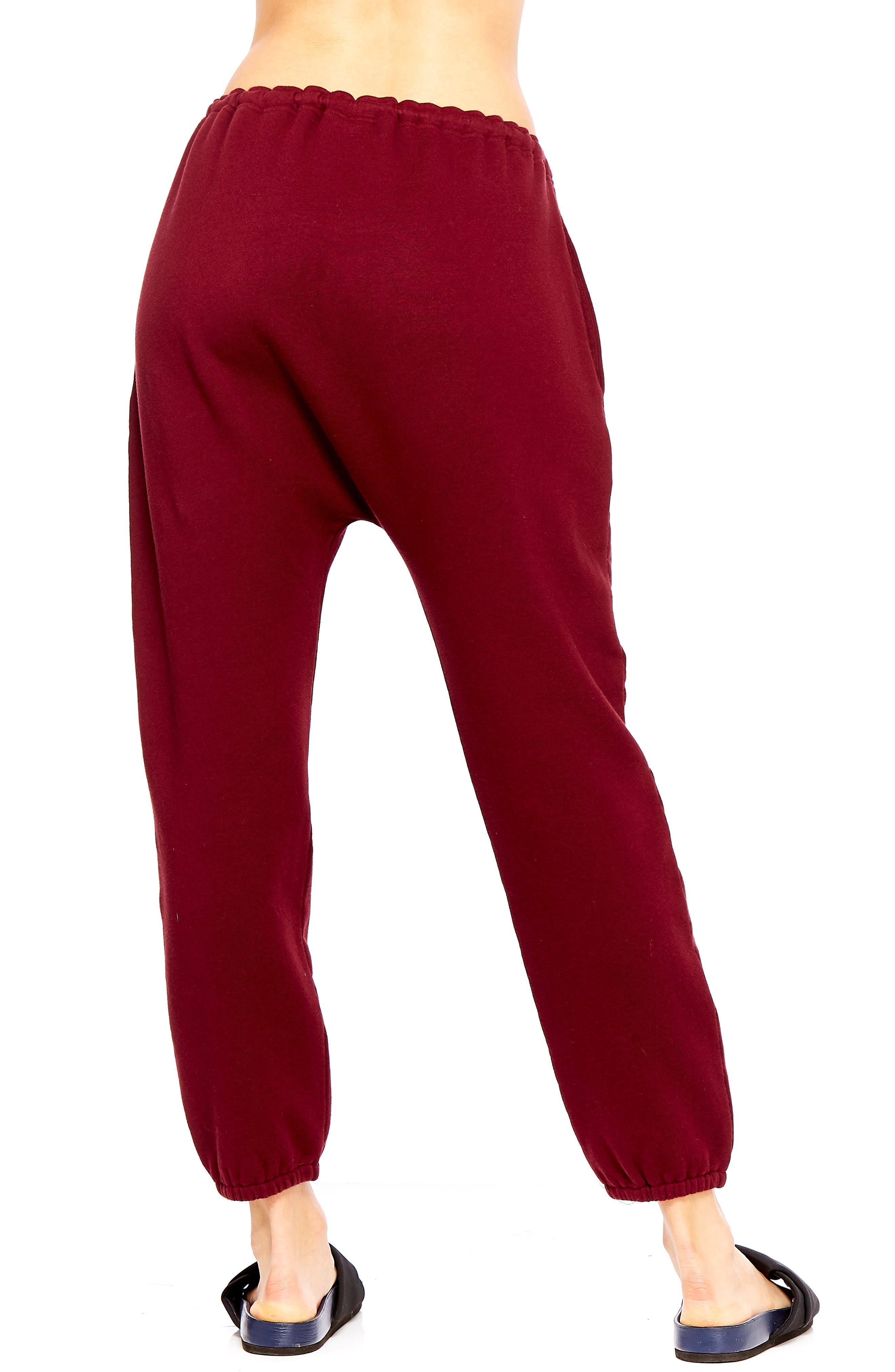 Phoenix Byron Track Pants,                             Alternate thumbnail 2, color,                             MAROON