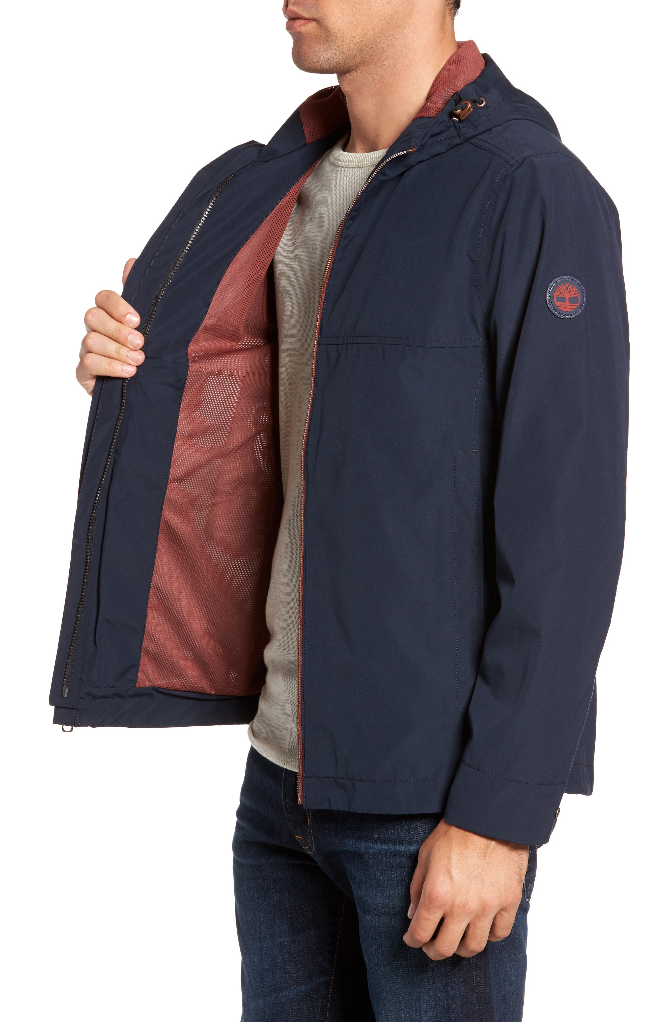 Ragged Mountain Packable Waterproof Jacket,                             Alternate thumbnail 6, color,
