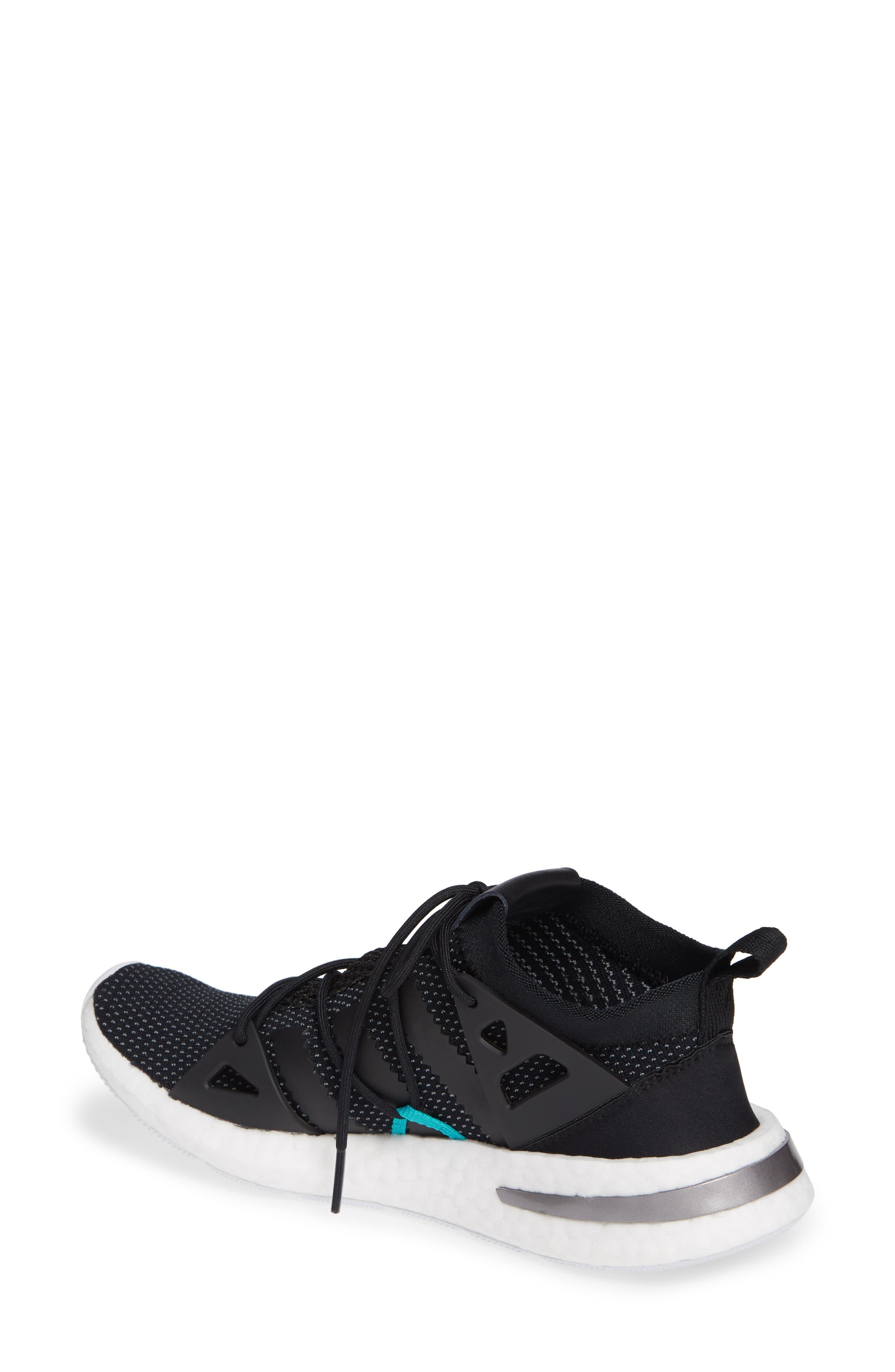 Arkyn Sneaker,                             Alternate thumbnail 2, color,                             BLACK/ BLACK/ WHITE
