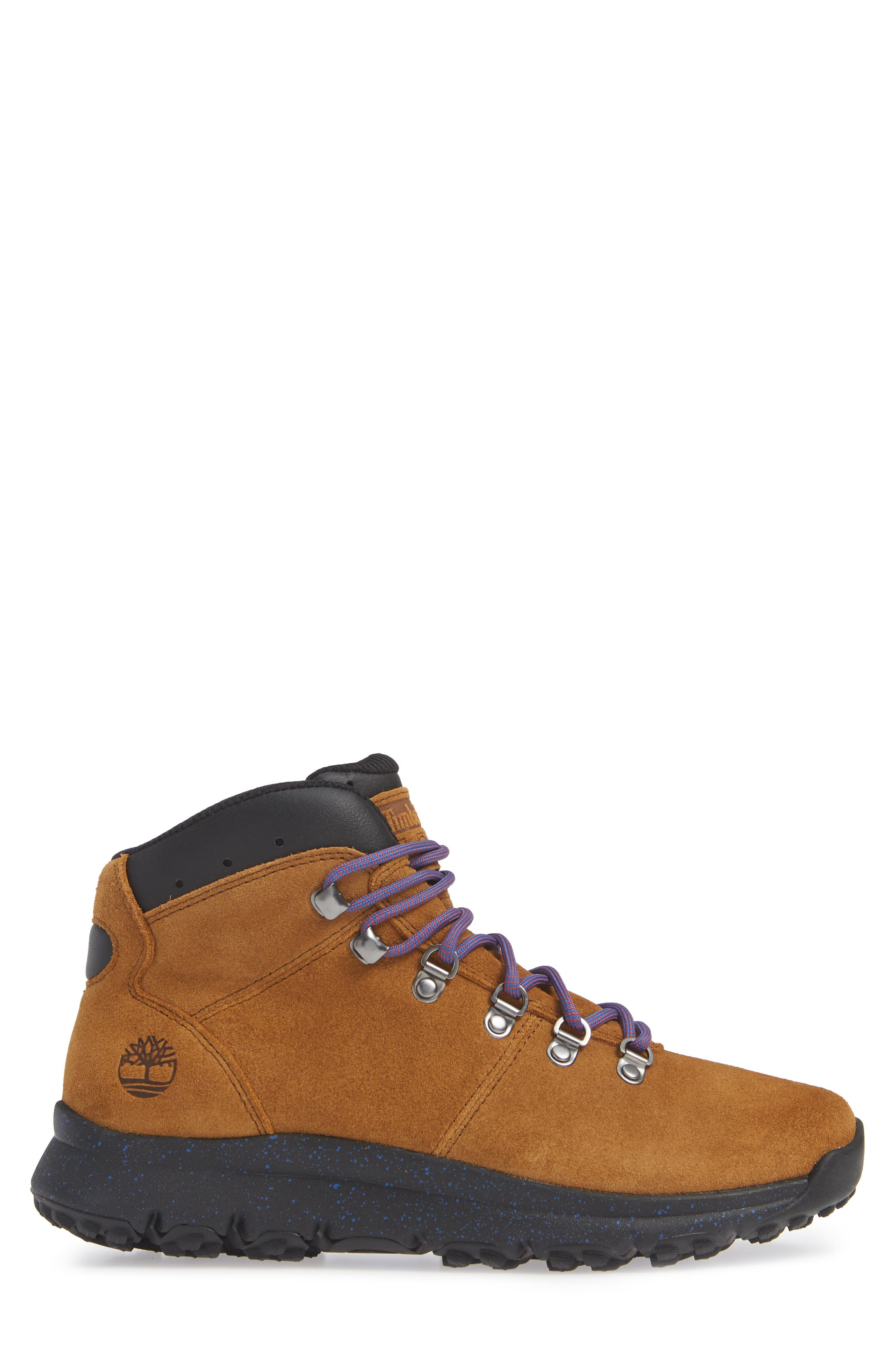 World Hiker Waterproof Boot,                             Alternate thumbnail 3, color,                             210