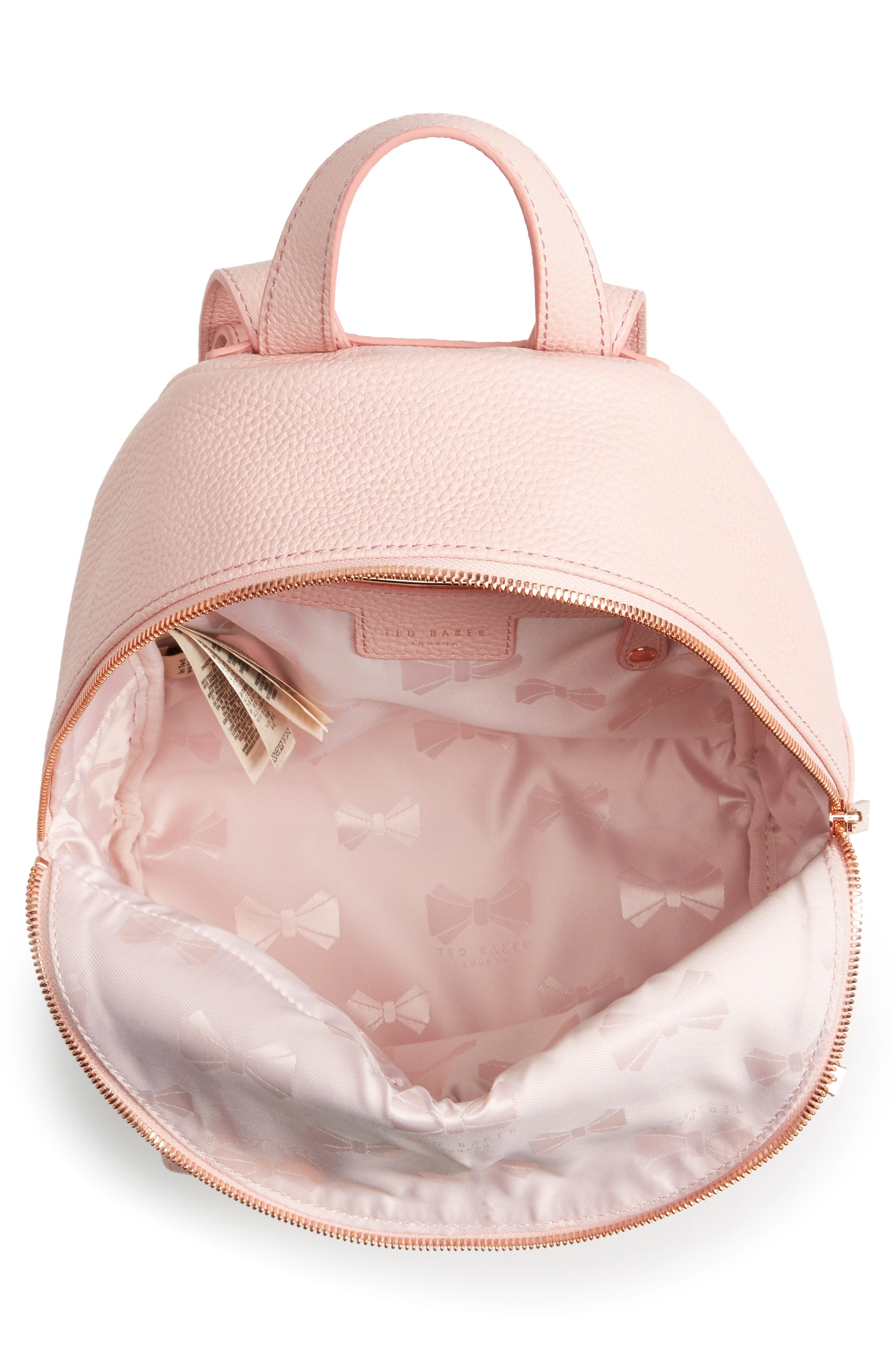 Pearen Leather Backpack,                             Alternate thumbnail 19, color,