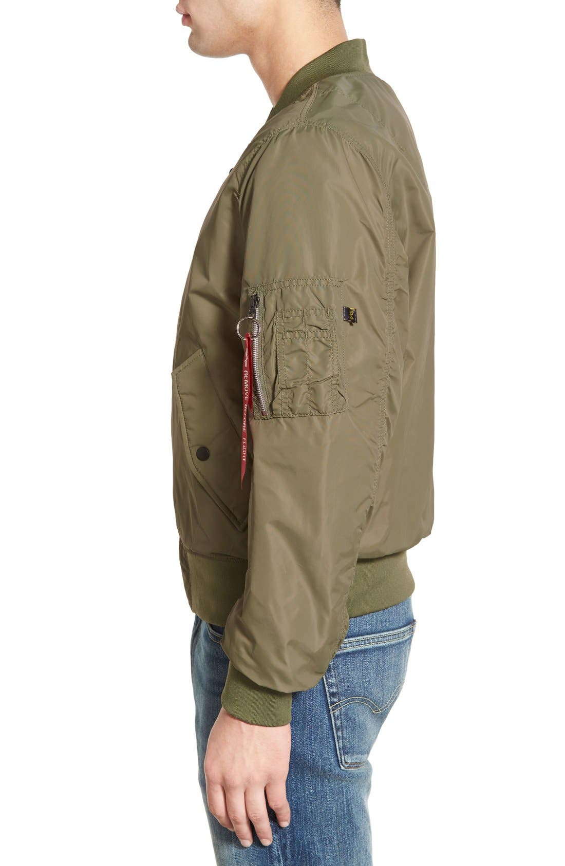 LB-2 Scout Reversible Flight Jacket,                             Alternate thumbnail 22, color,