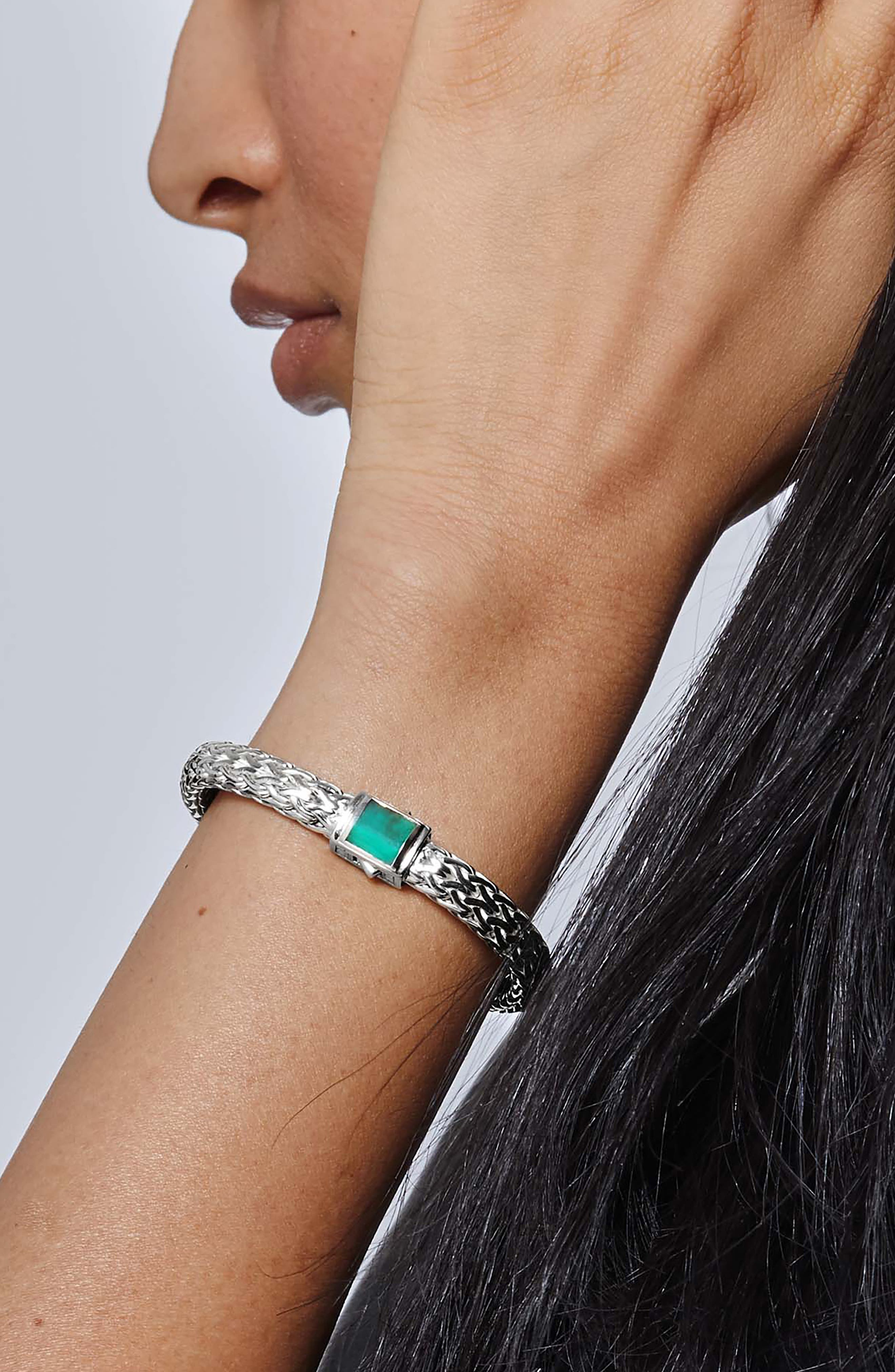 Classic Chain Reversible Bracelet,                             Alternate thumbnail 2, color,                             001