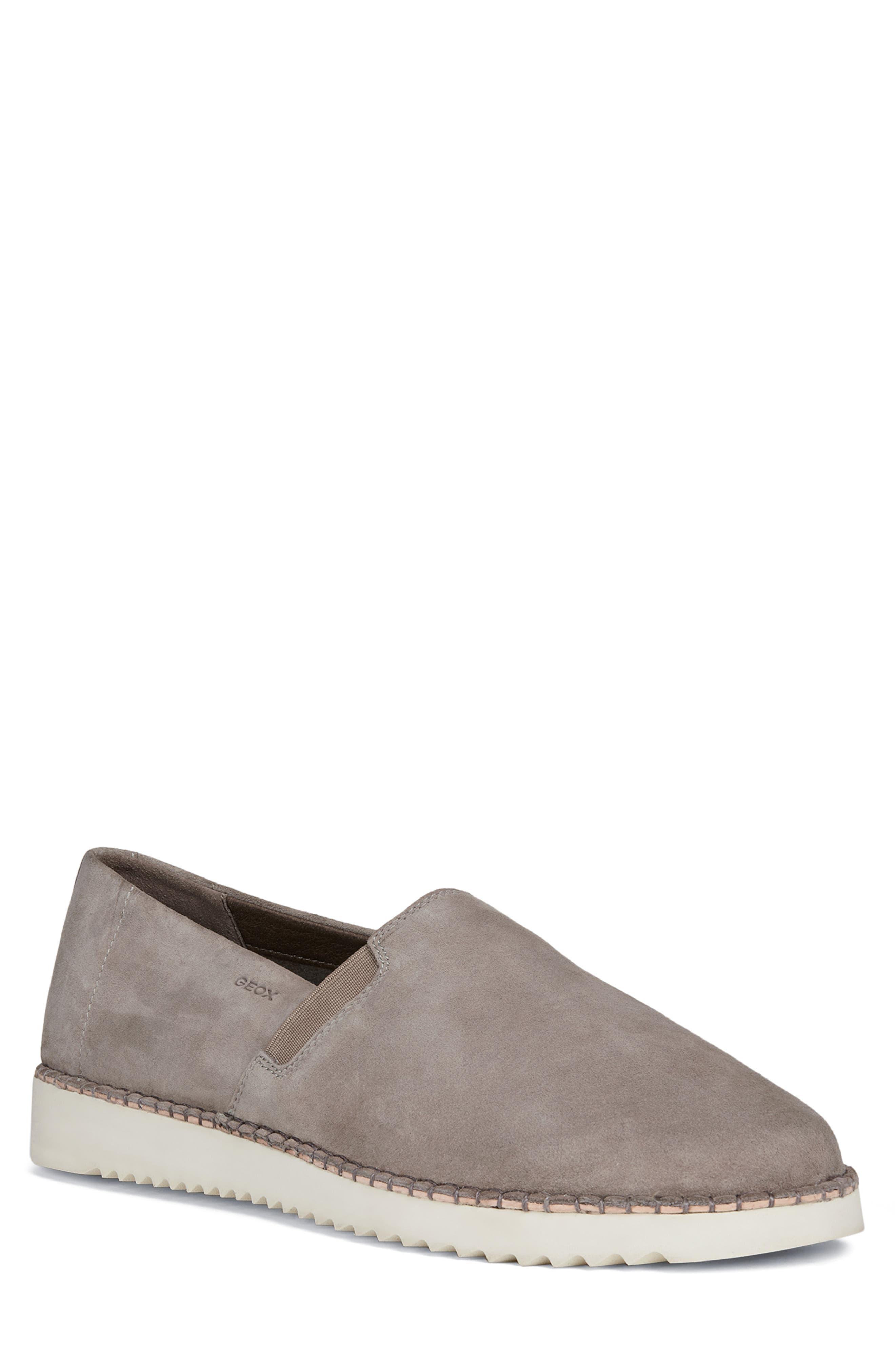 Dayan 2 Slip-On Sneaker, Main, color, SMOKE GREY LEATHER