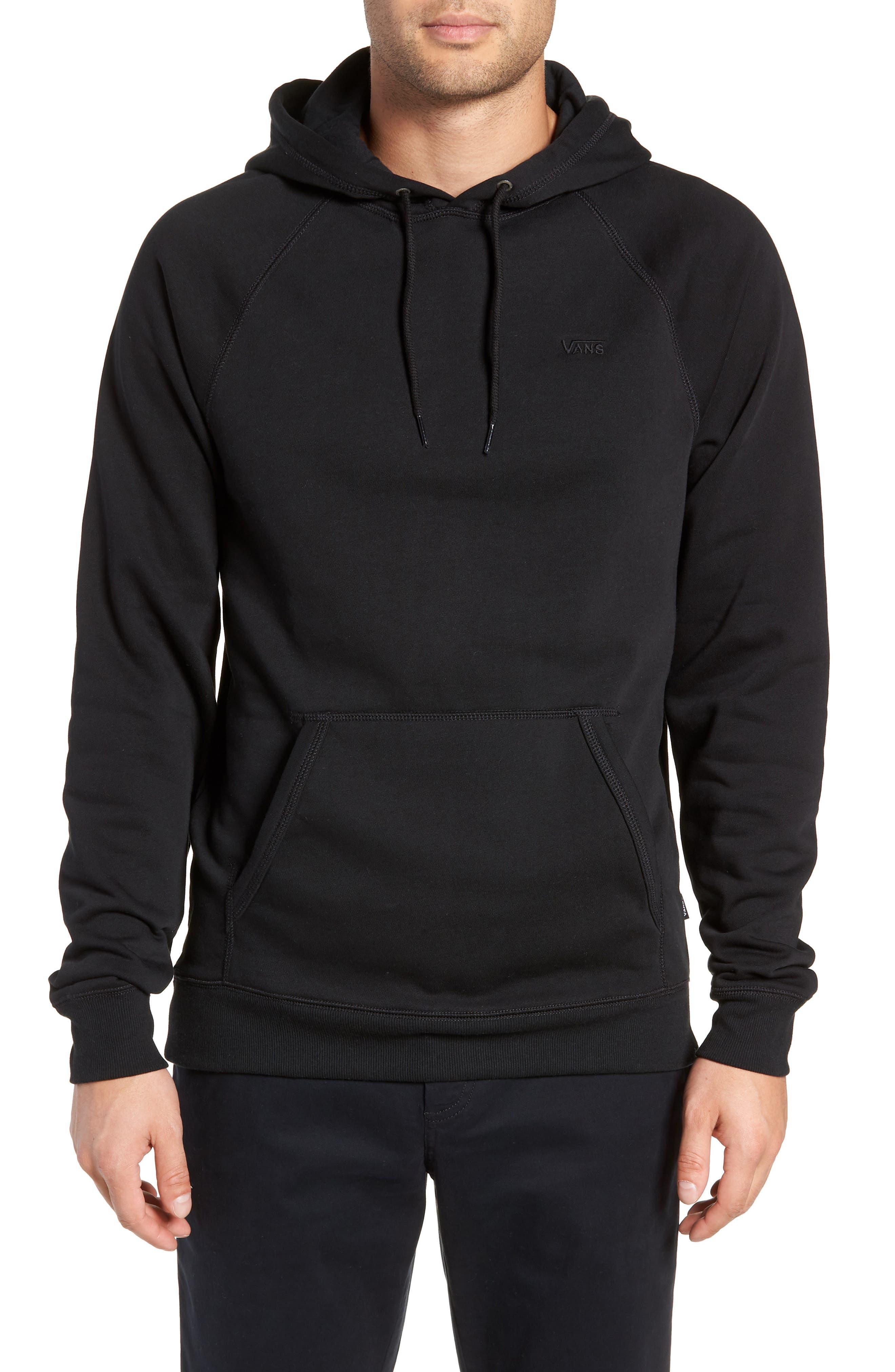 Versa Hoodie Sweatshirt,                         Main,                         color, BLACK
