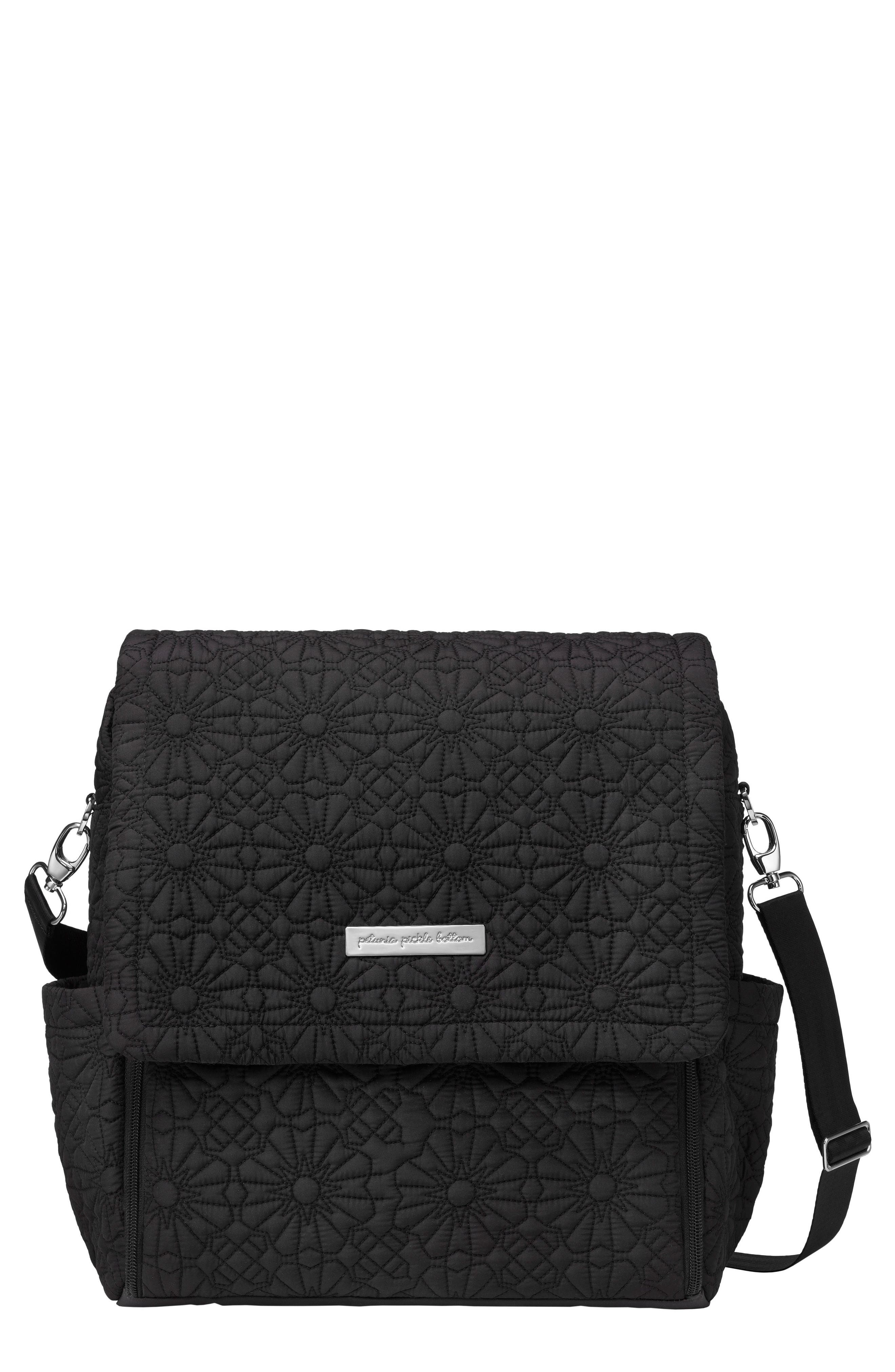 'Embossed Boxy' Backpack Diaper Bag,                             Alternate thumbnail 2, color,                             002