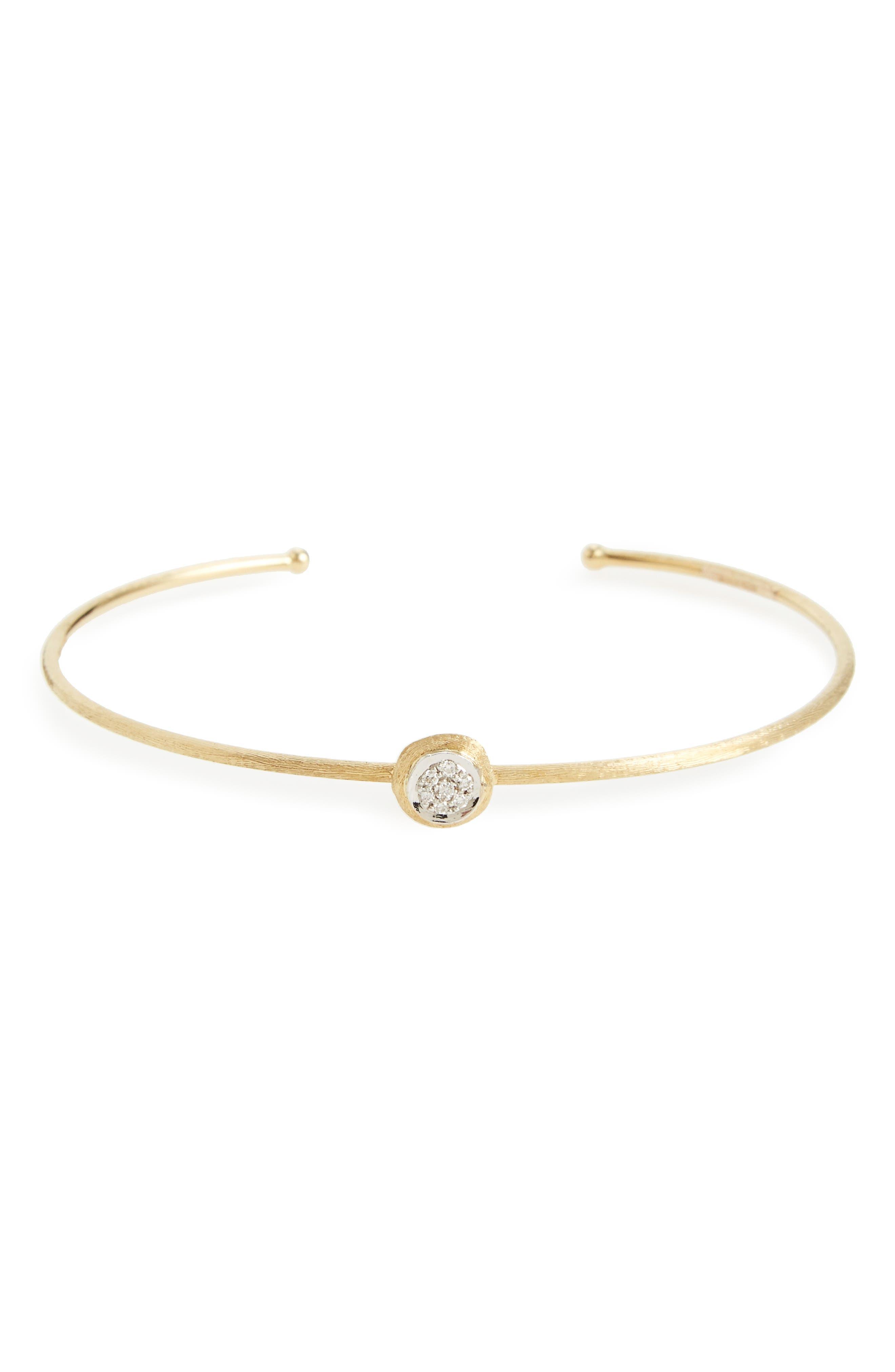 Delicati Pavé Diamond Cuff,                         Main,                         color, 710