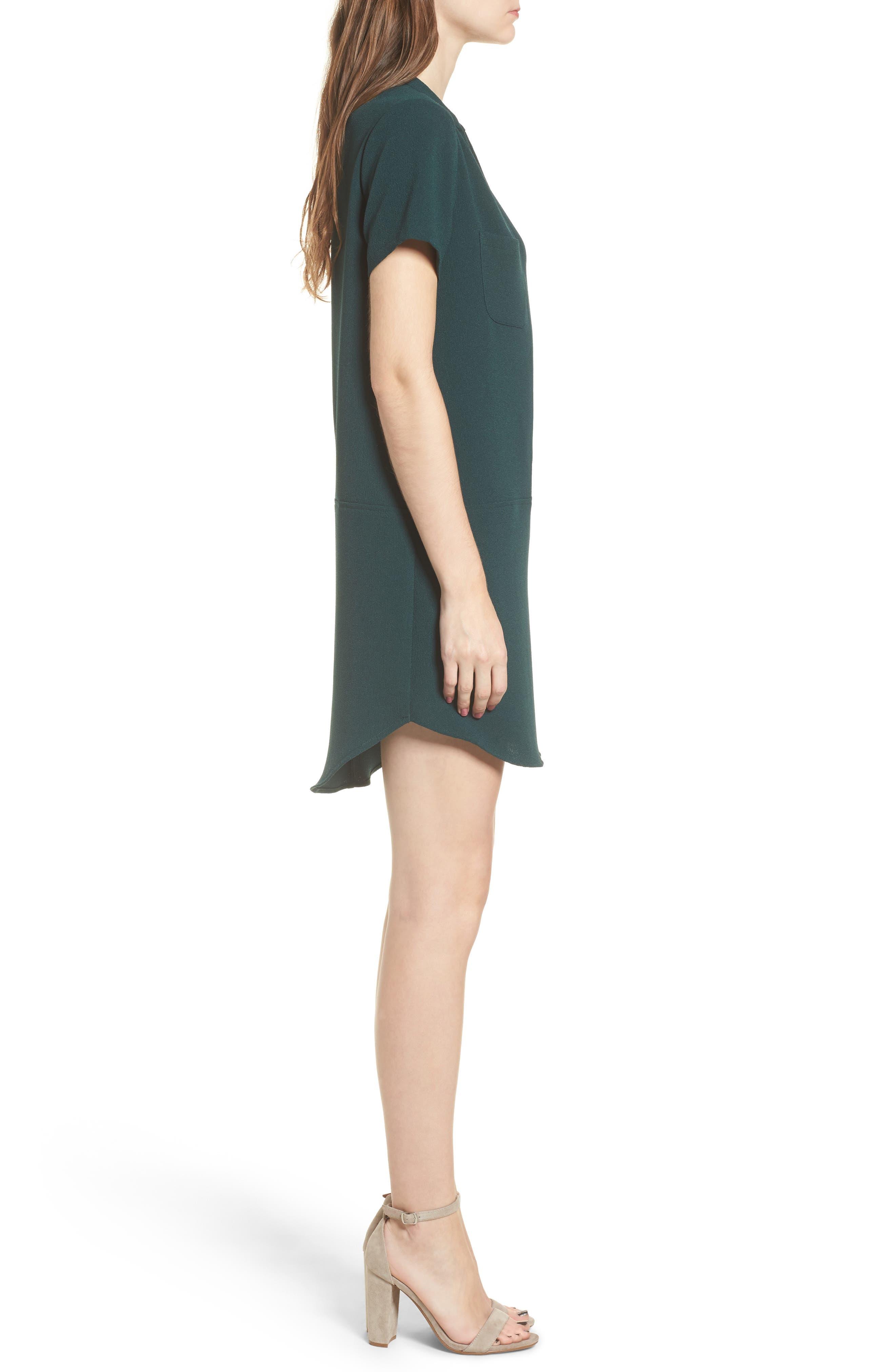 Hailey Crepe Dress,                             Alternate thumbnail 65, color,