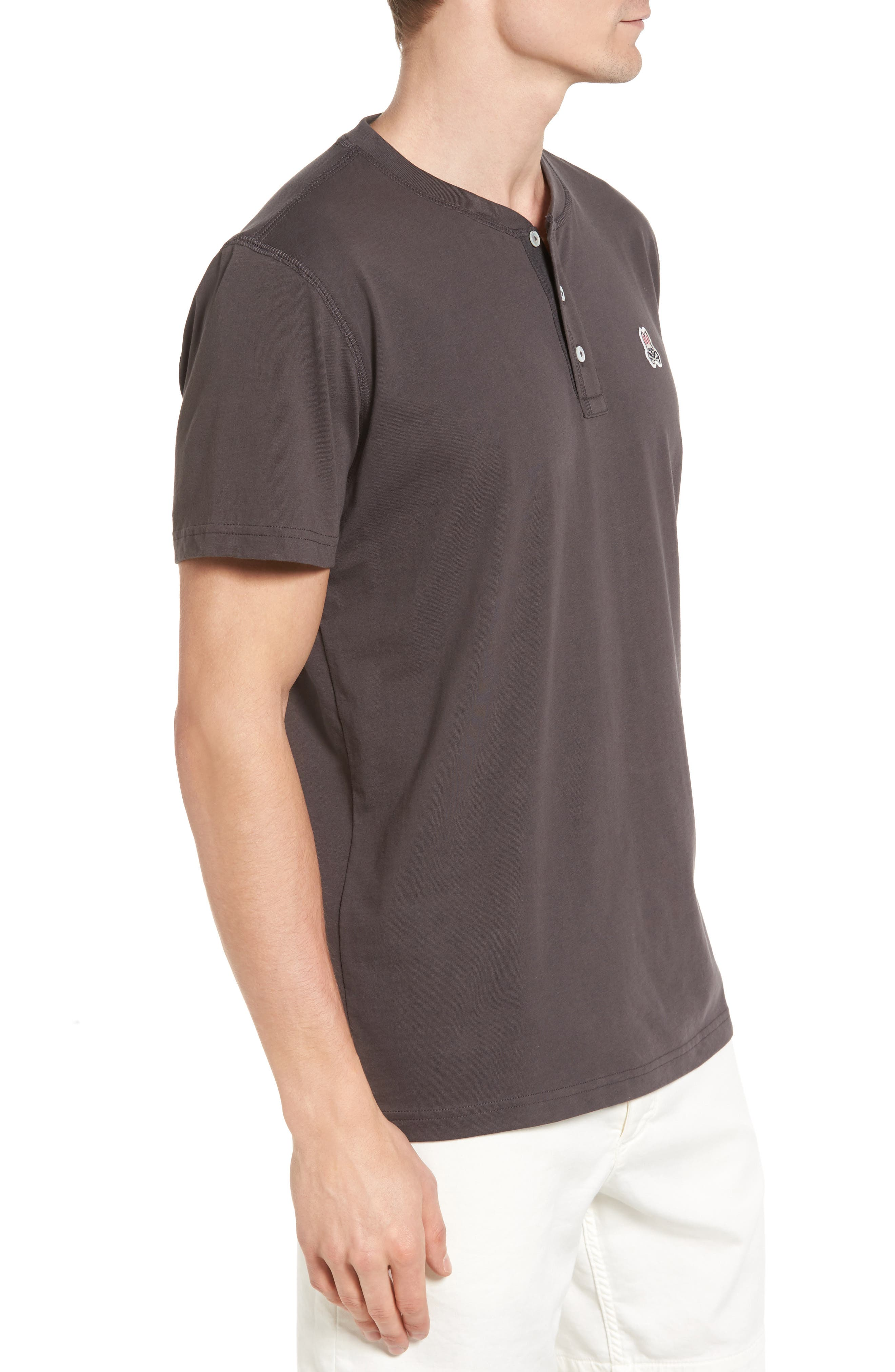 Henley T-Shirt,                             Alternate thumbnail 3, color,                             003