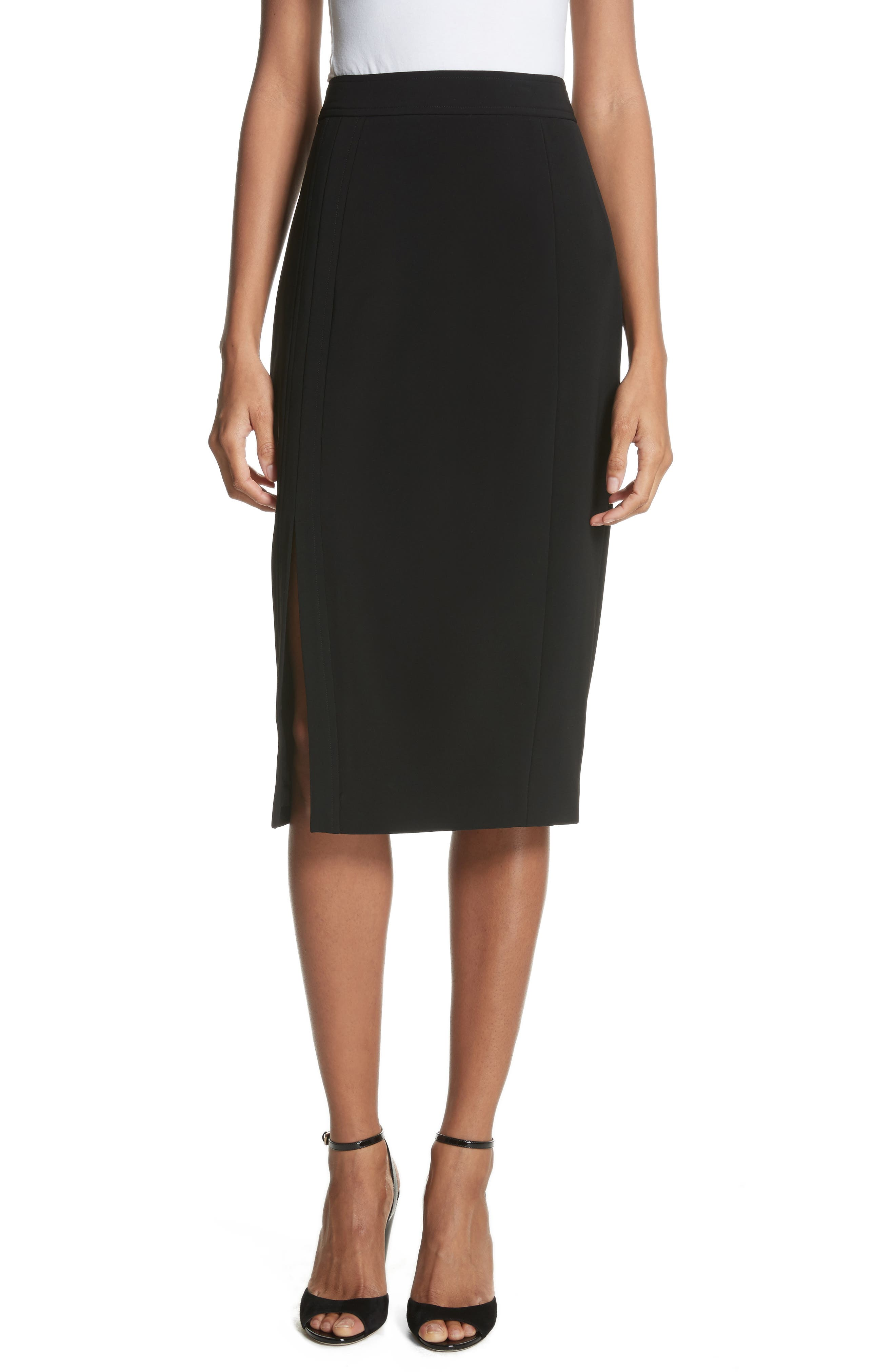 Pencil Skirt,                             Main thumbnail 1, color,                             001