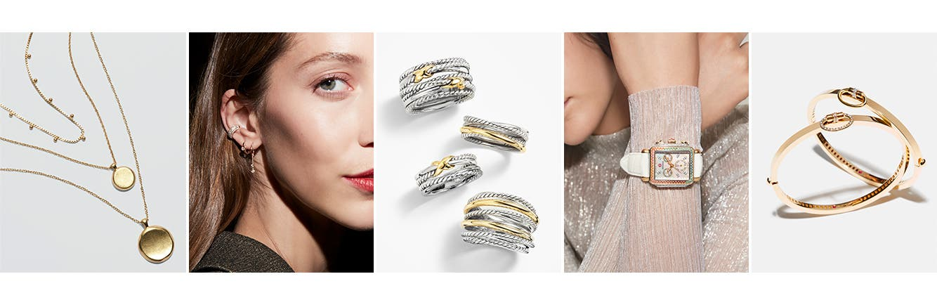 Jewelry gift idea: modern layers.