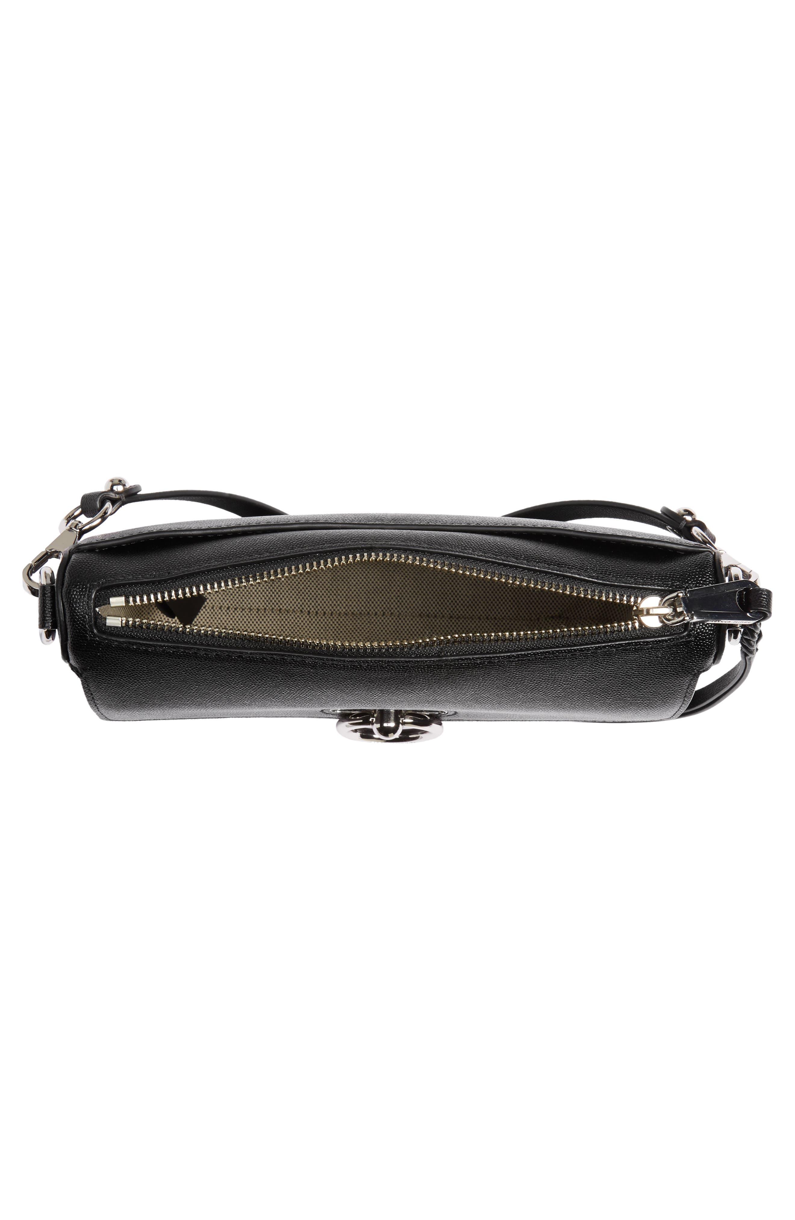 Jean MAC Convertible Crossbody Bag,                             Alternate thumbnail 4, color,                             BLACK