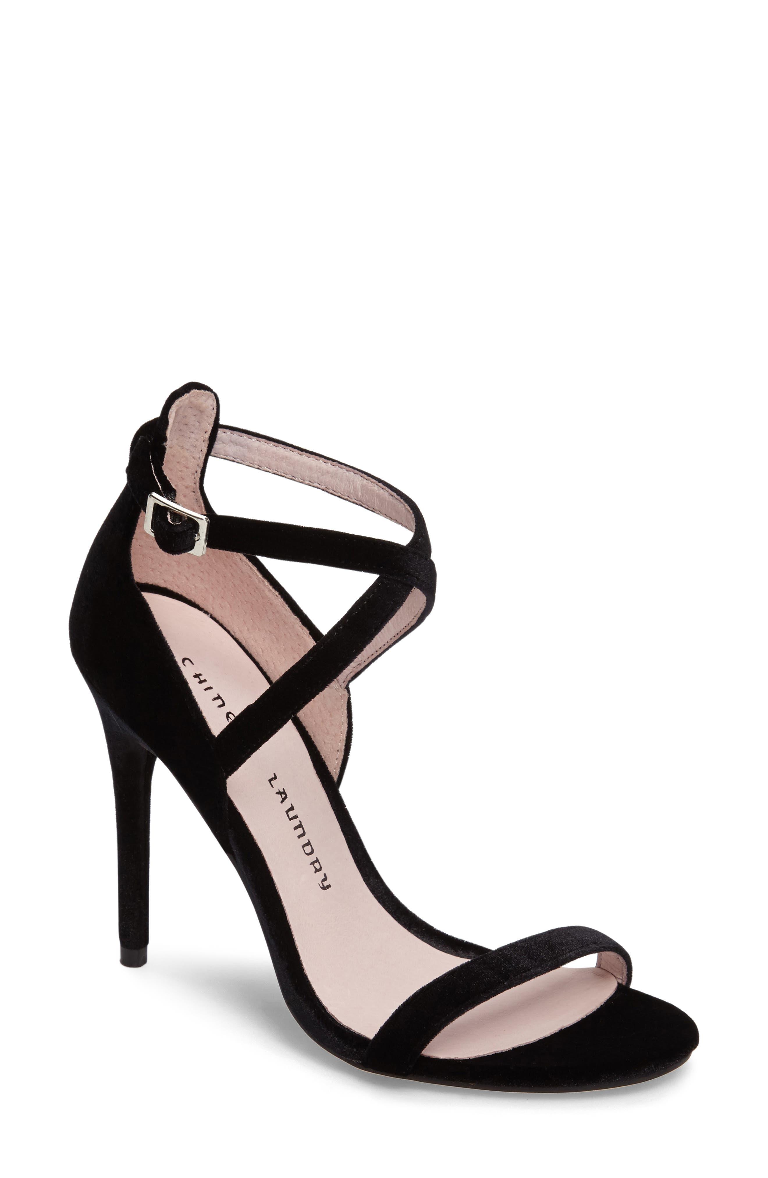 Lavelle Ankle Strap Sandal,                             Alternate thumbnail 2, color,                             001
