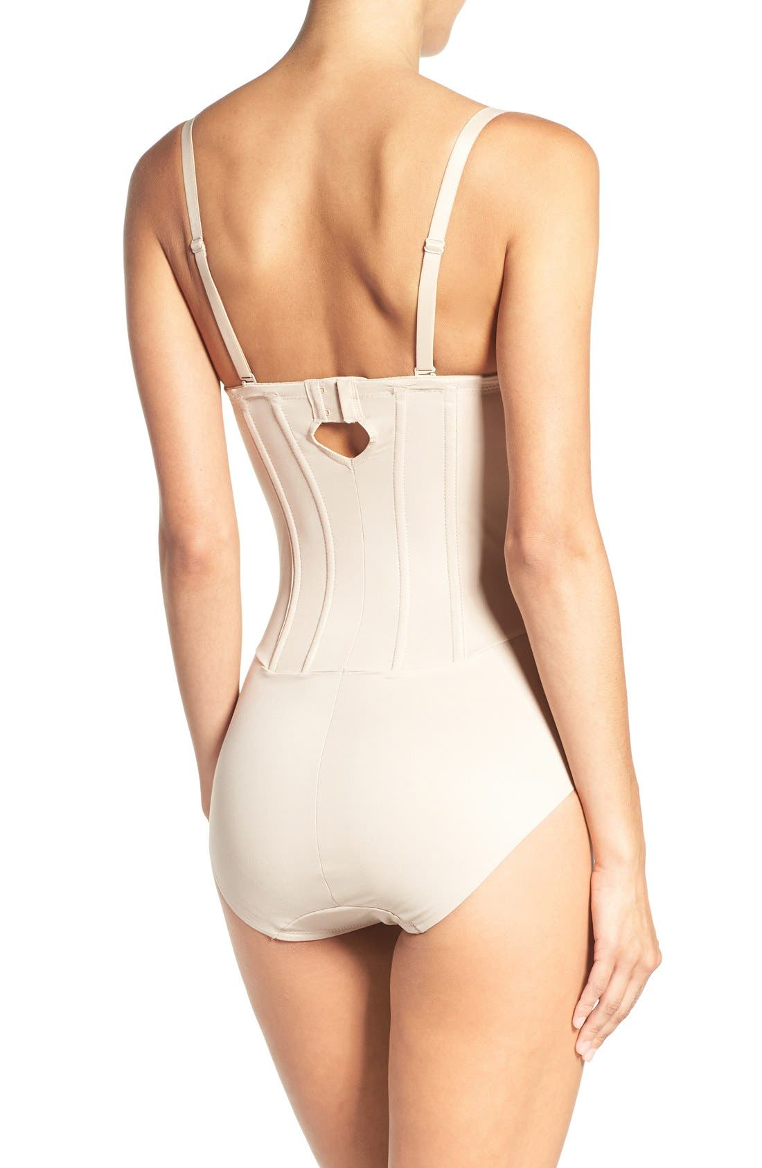 Strapless Shaper Bodysuit,                             Alternate thumbnail 2, color,                             CUPID NUDE