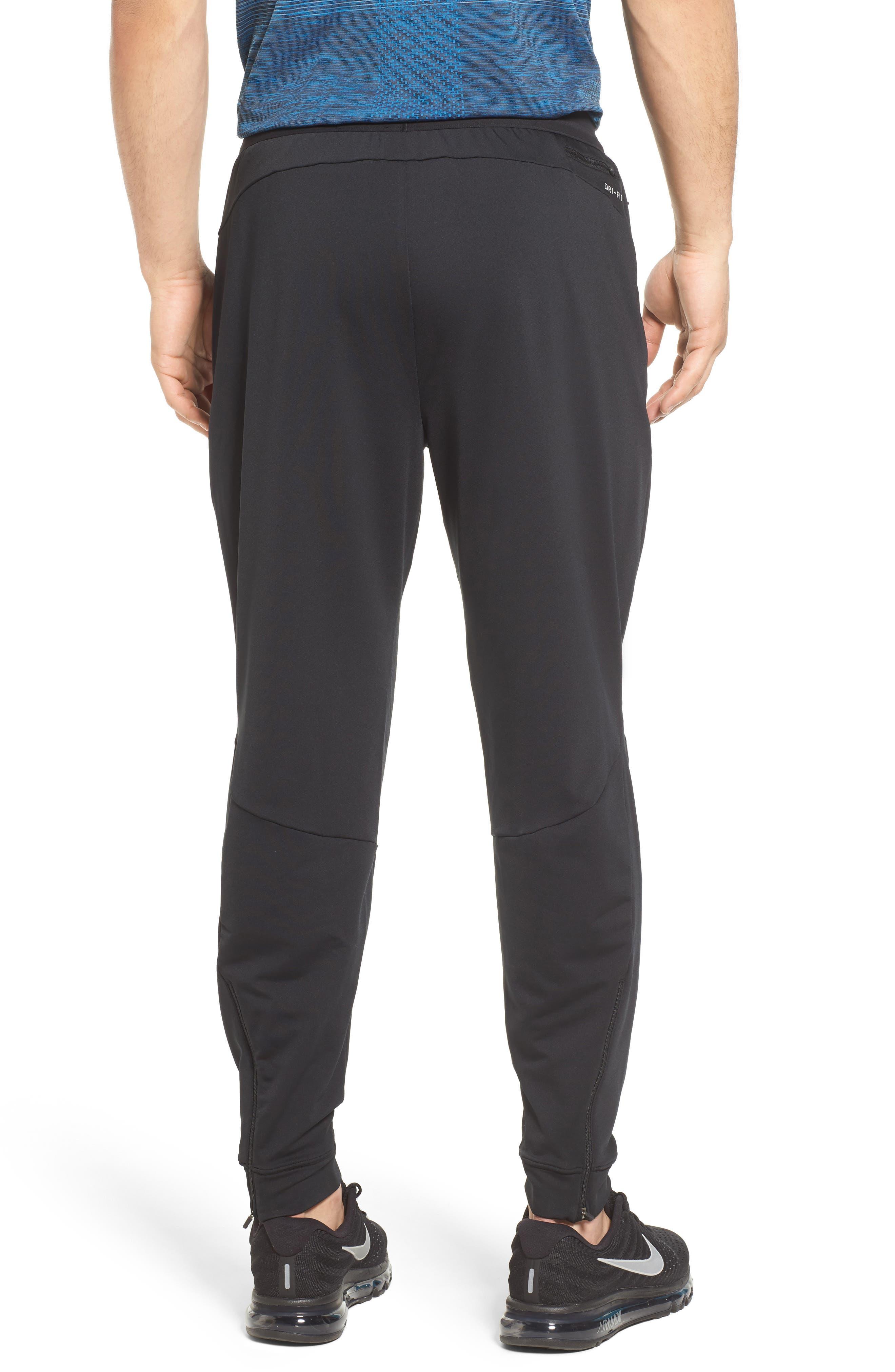 Dry Running Pants,                             Alternate thumbnail 2, color,                             BLACK