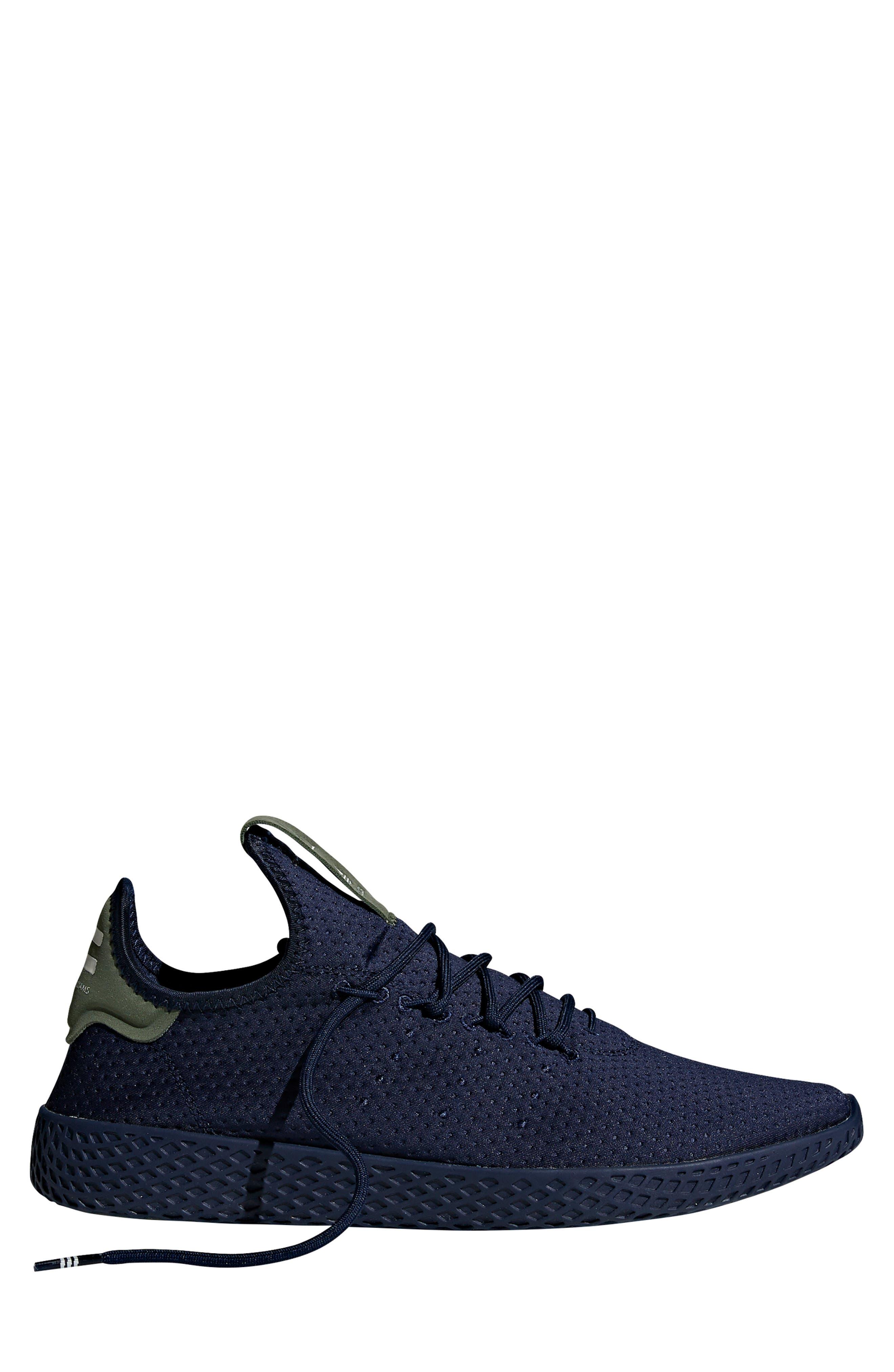 Pharrell Williams Tennis Hu Sneaker,                             Alternate thumbnail 8, color,                             415