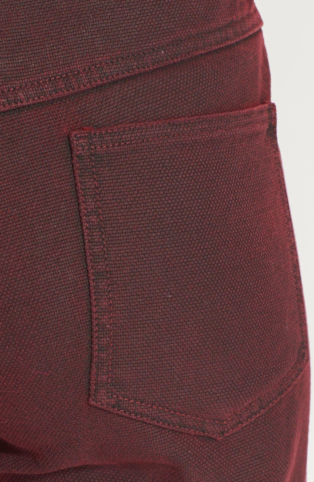Crop Saddle Jeans,                             Alternate thumbnail 2, color,                             601