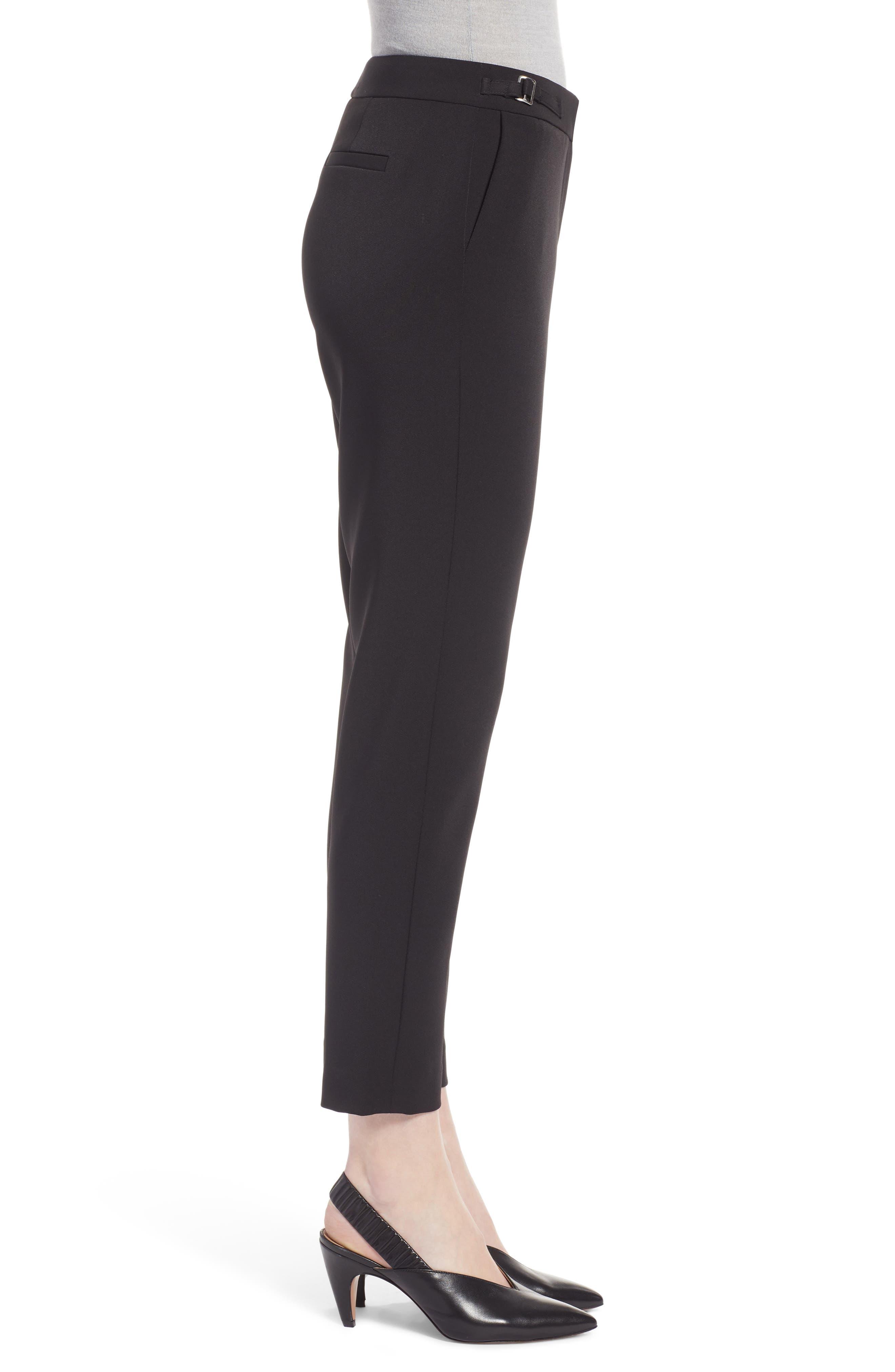 Slim Pants,                             Alternate thumbnail 3, color,                             BLACK TECH