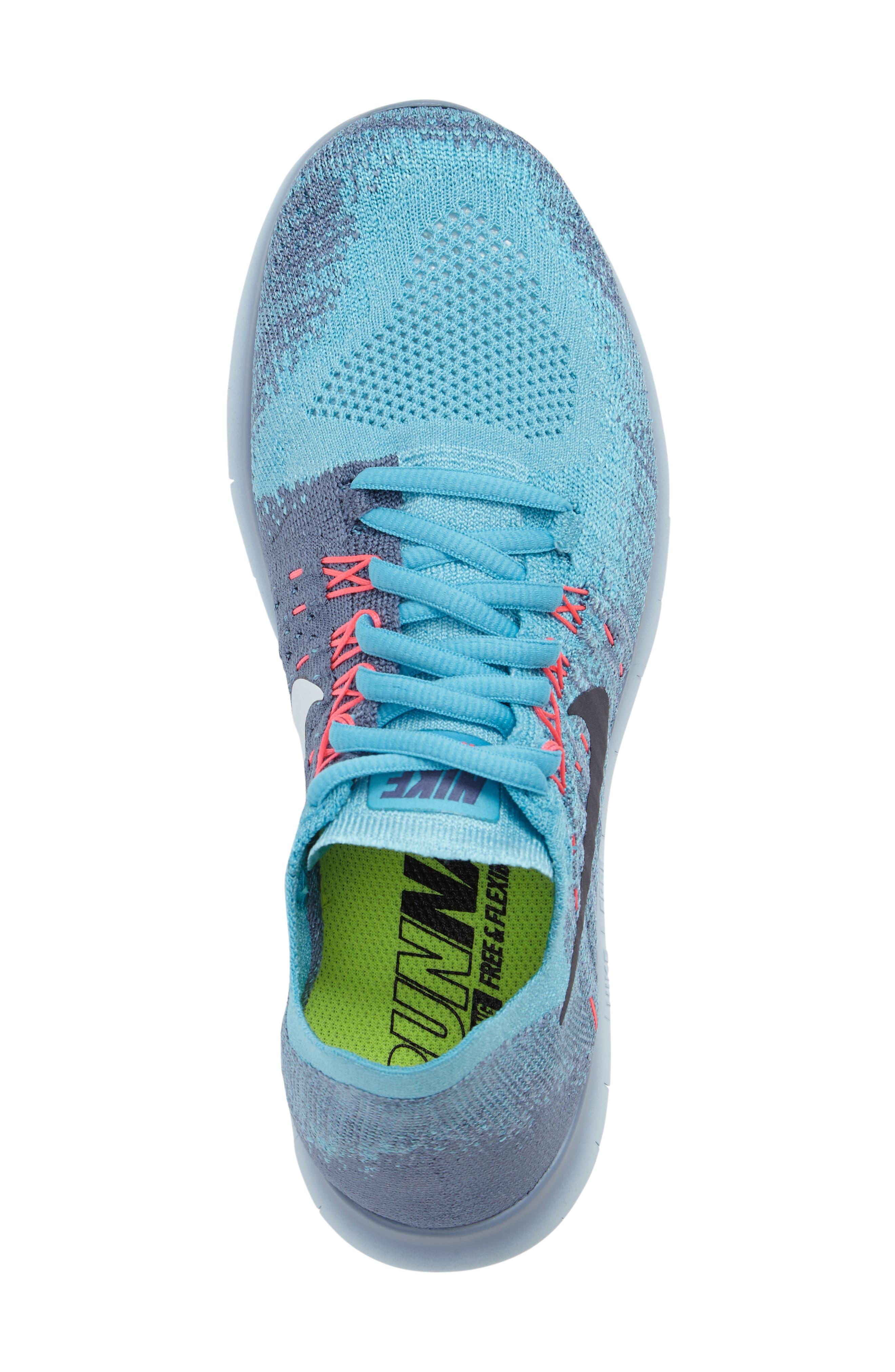 Free RN Flyknit 2 Running Shoe,                             Alternate thumbnail 14, color,