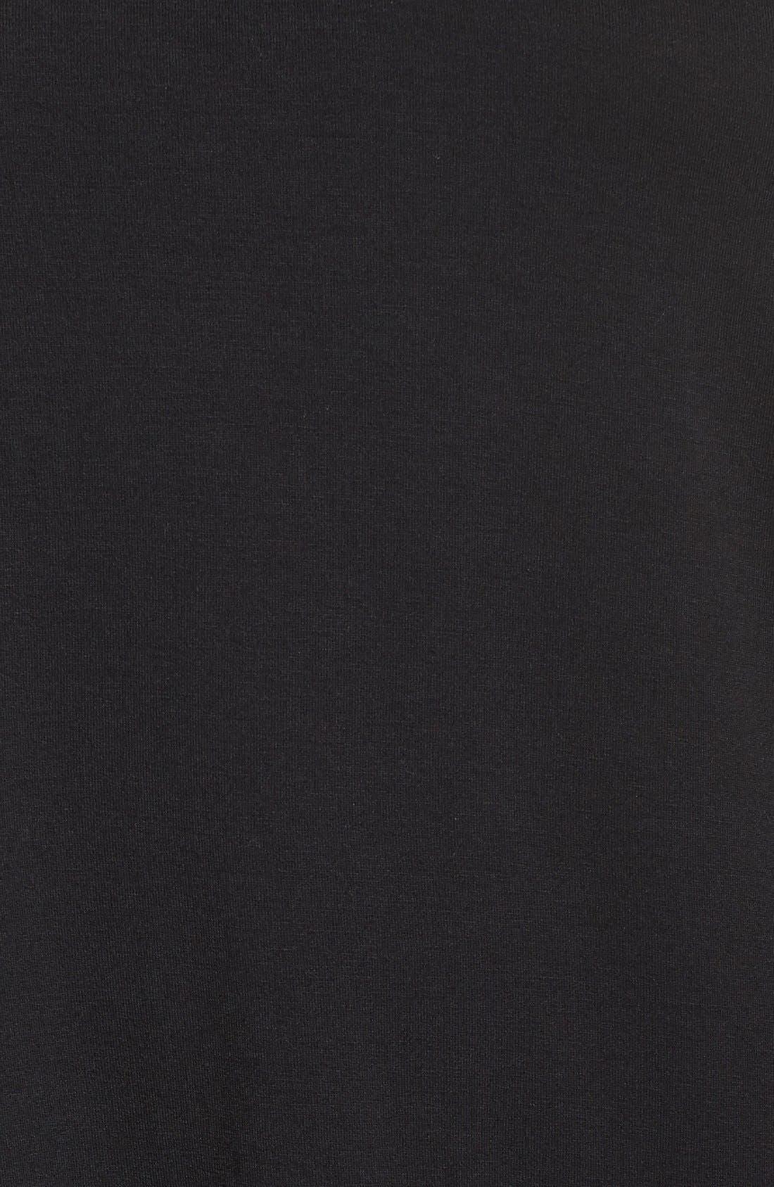 Sweetheart Neck Long Sleeve Tee,                             Alternate thumbnail 2, color,                             001