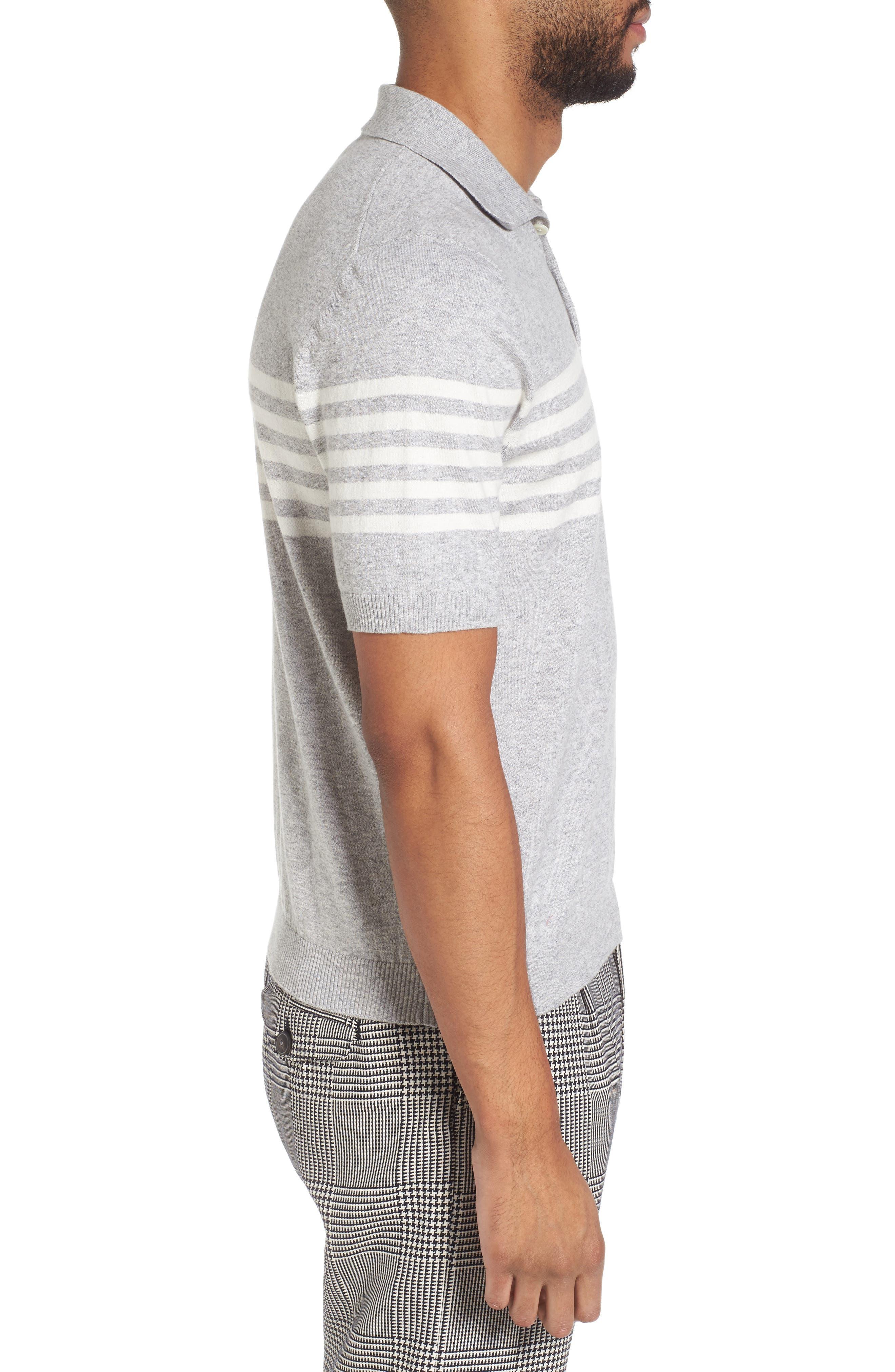 Stripe Sweater,                             Alternate thumbnail 3, color,                             020
