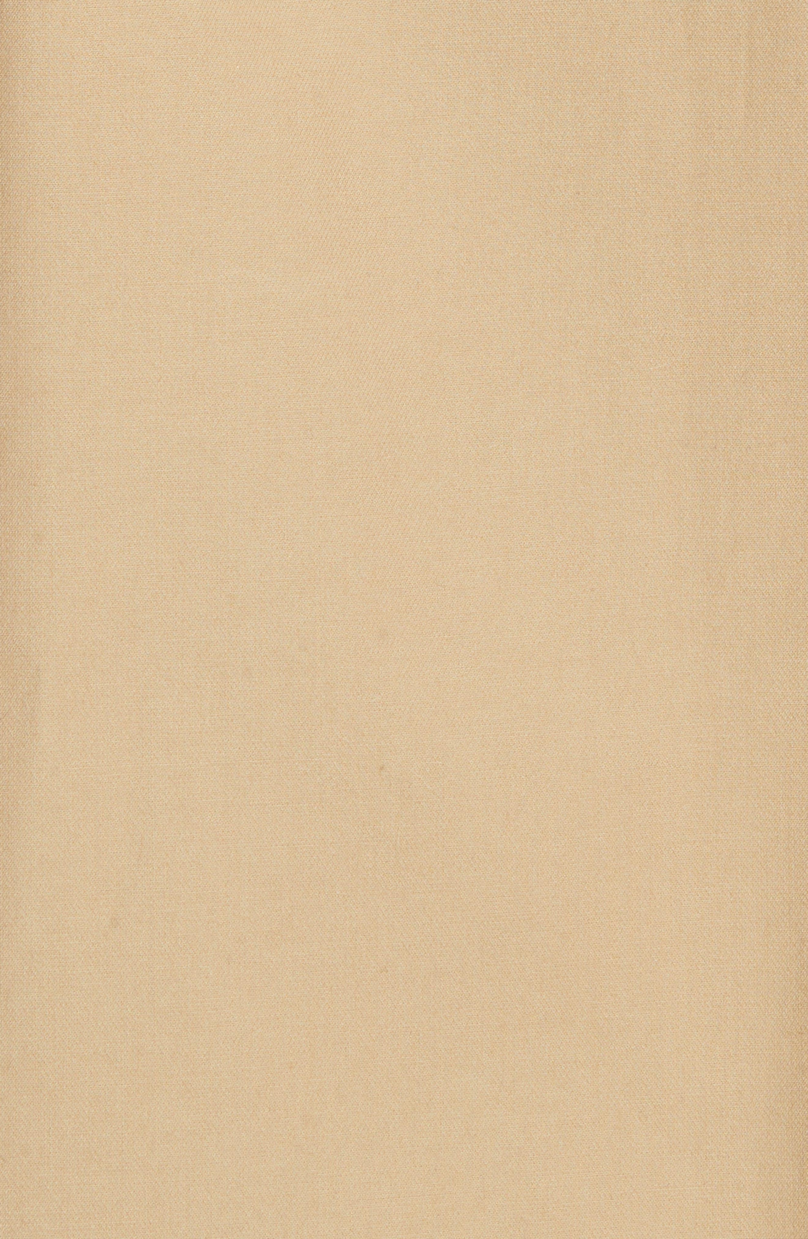 Kamille Peplum Waist Skirt,                             Alternate thumbnail 5, color,                             KHAKI