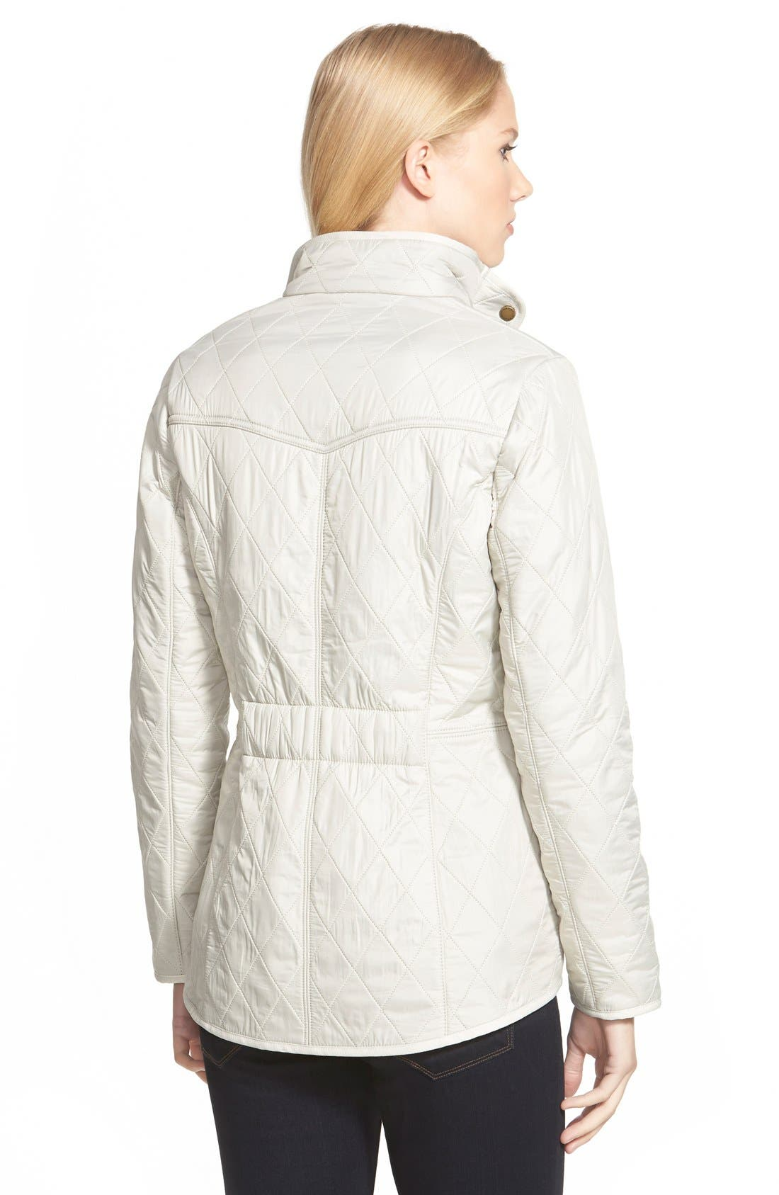 'Cavalry' Quilted Jacket,                             Alternate thumbnail 19, color,