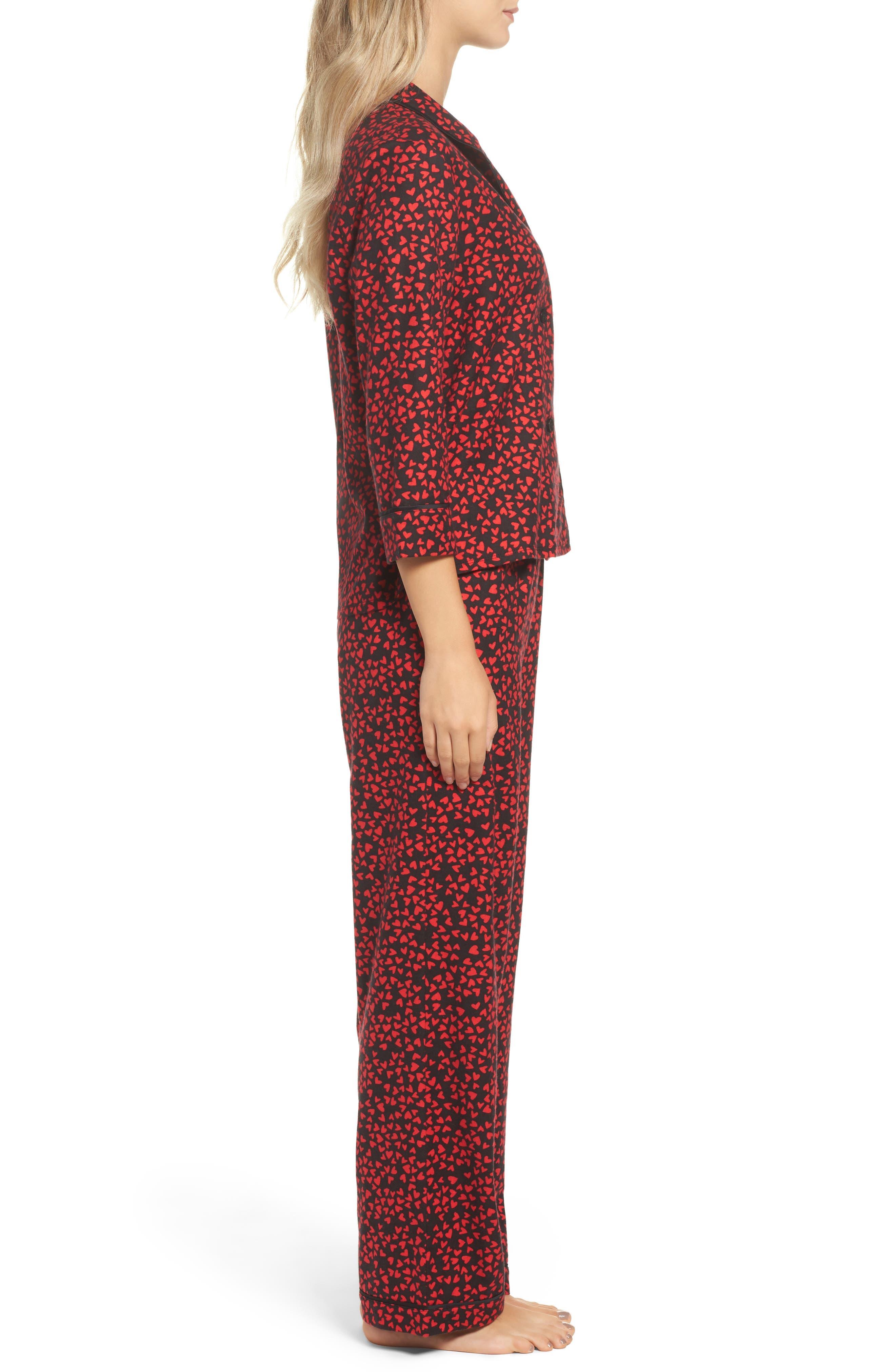 Flannel Pajamas,                             Alternate thumbnail 9, color,