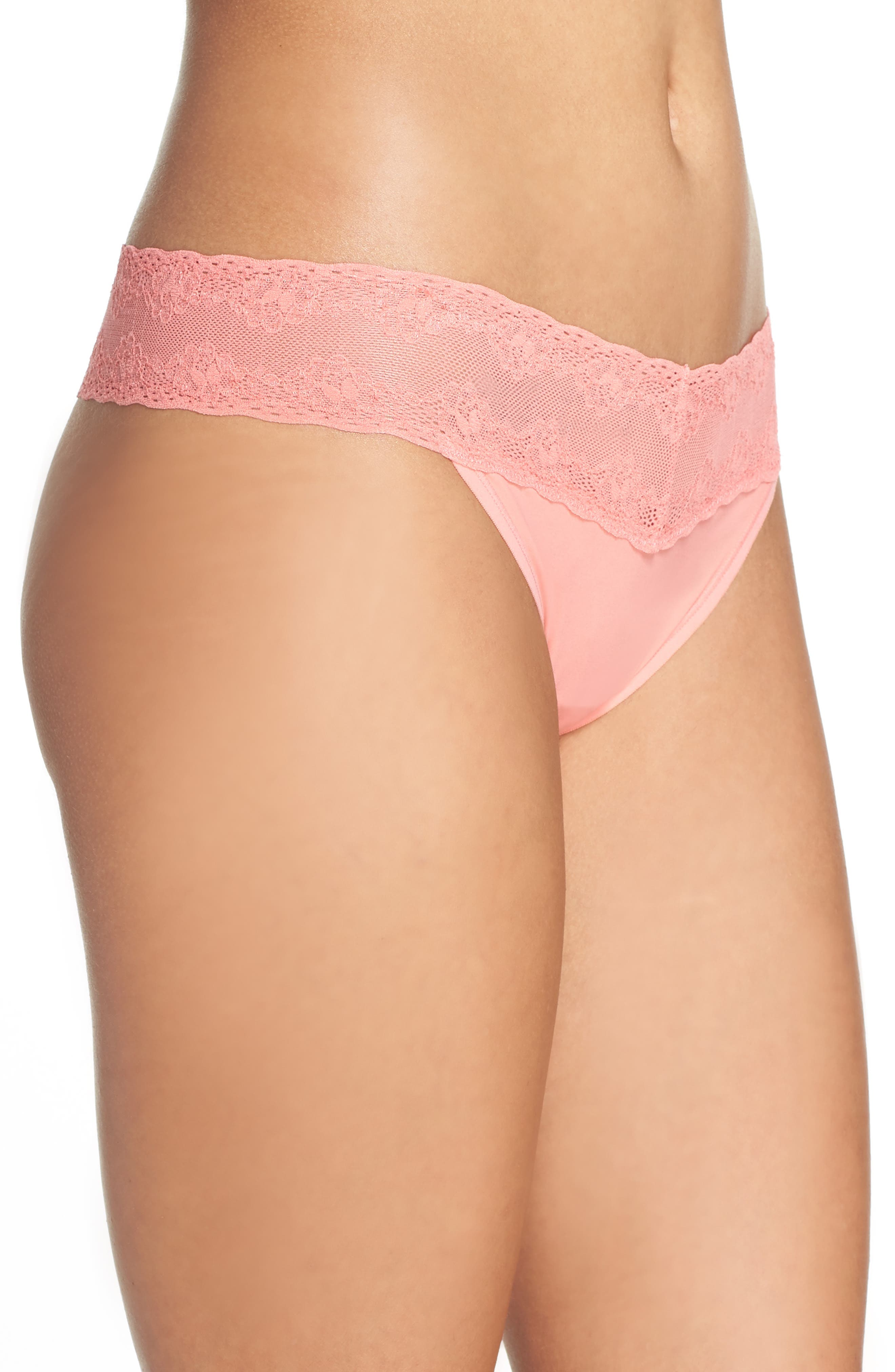 Bliss Perfection Thong,                             Alternate thumbnail 292, color,