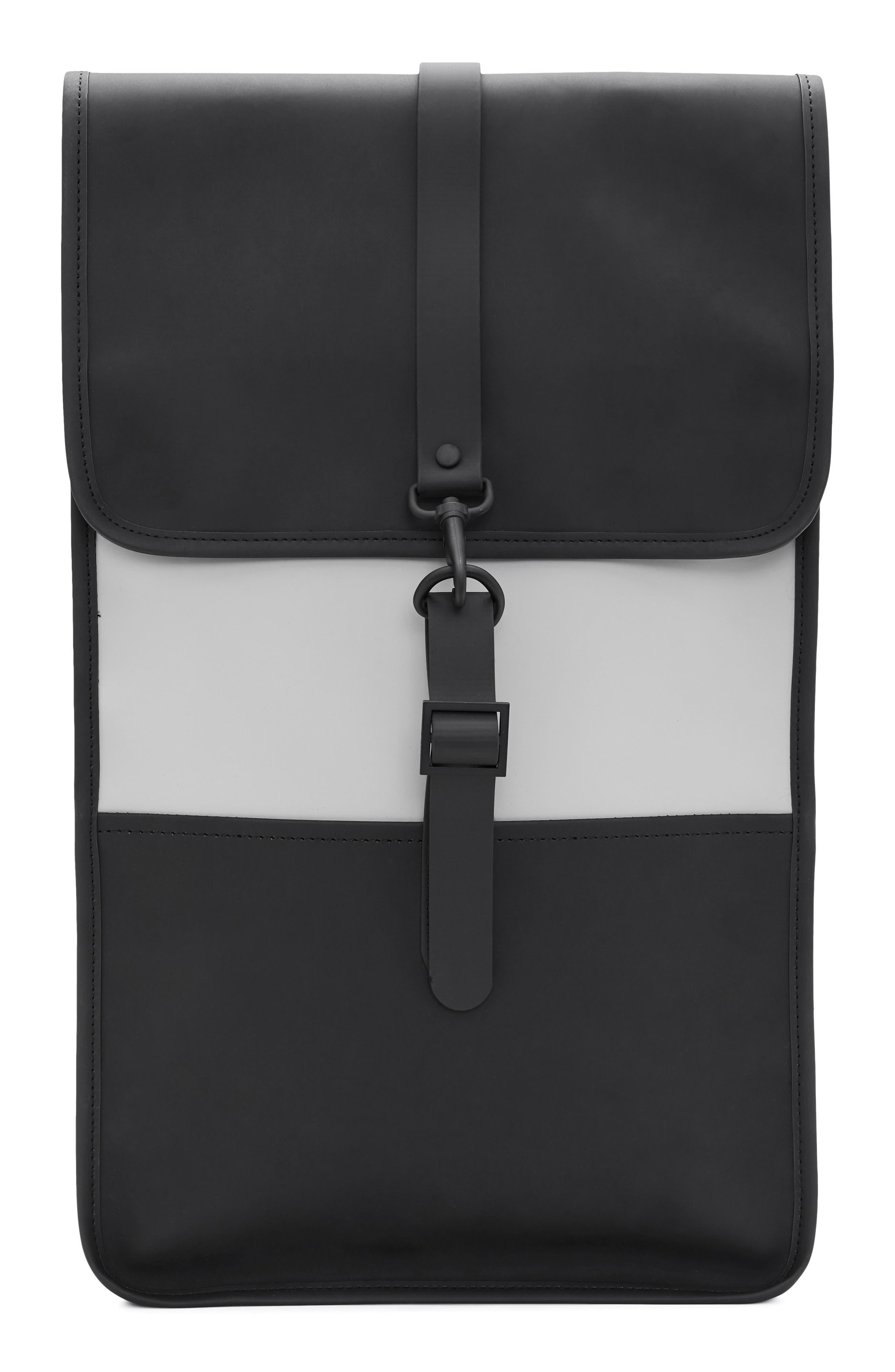 Waterproof Backpack,                         Main,                         color, BLACK/ STONE