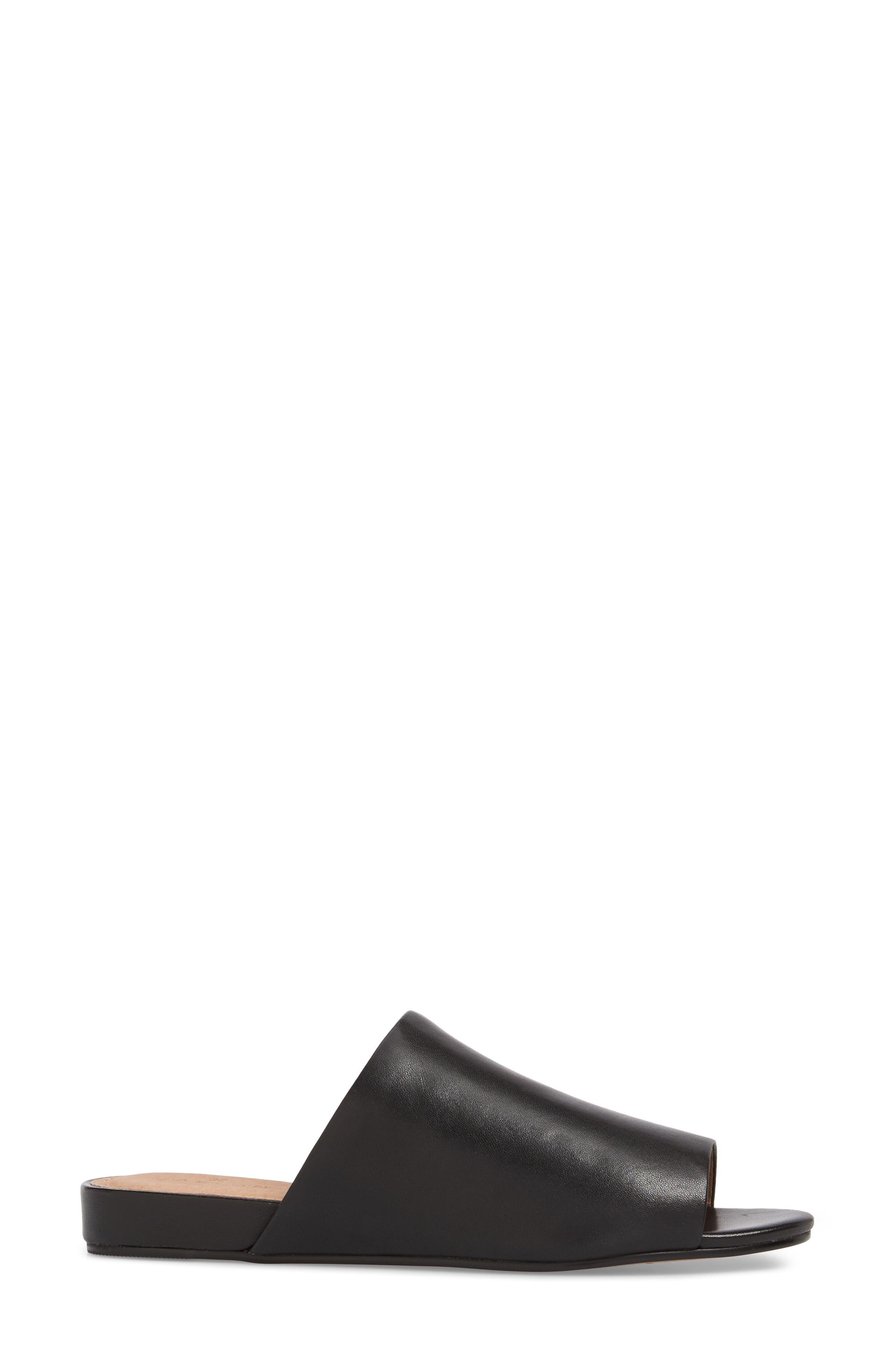 Kiana Slide Sandal,                             Alternate thumbnail 3, color,                             001