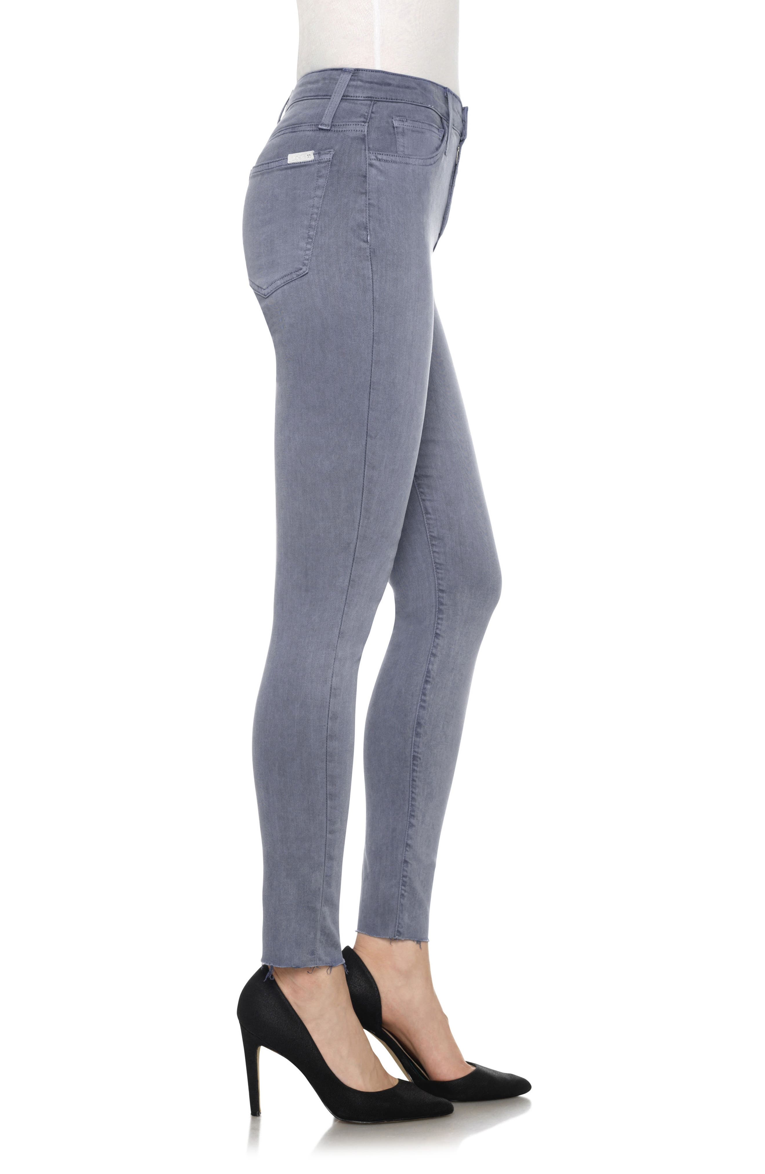 Charlie High Rise Ankle Skinny Jeans,                             Alternate thumbnail 26, color,
