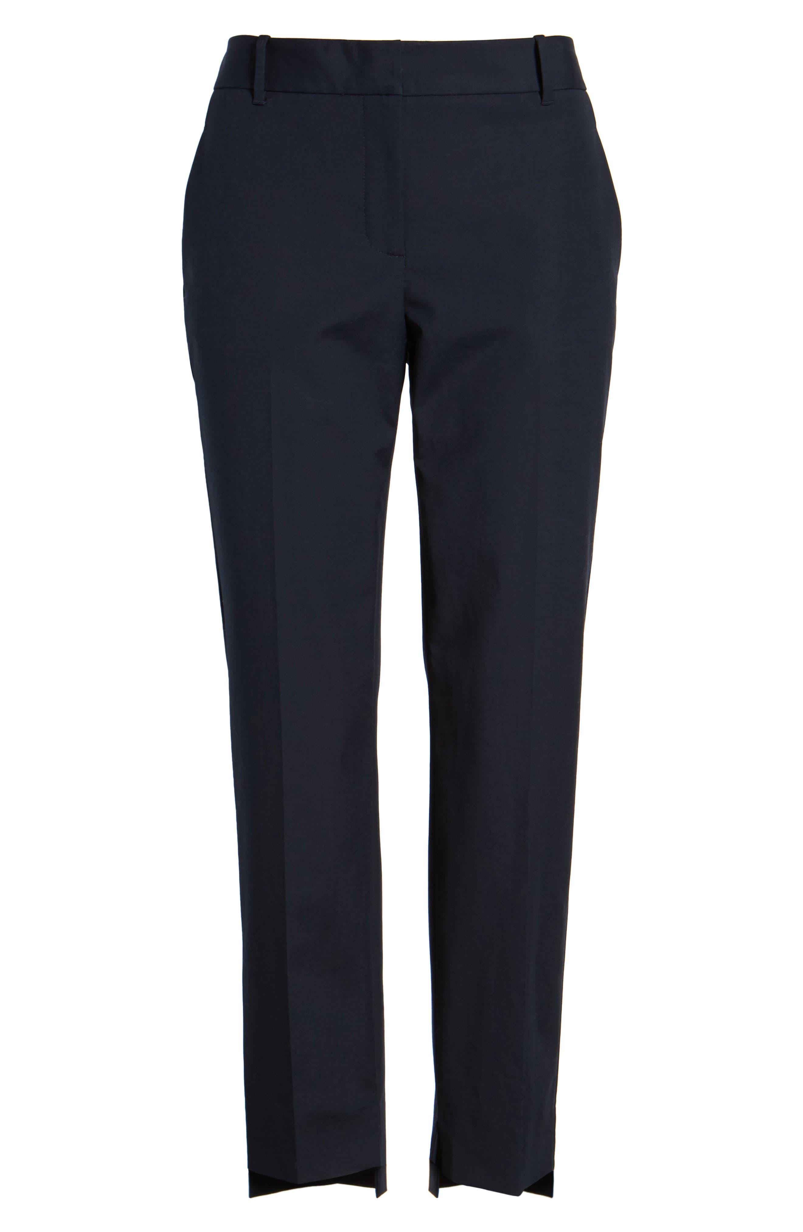 High/Low Crop Pants,                             Alternate thumbnail 13, color,