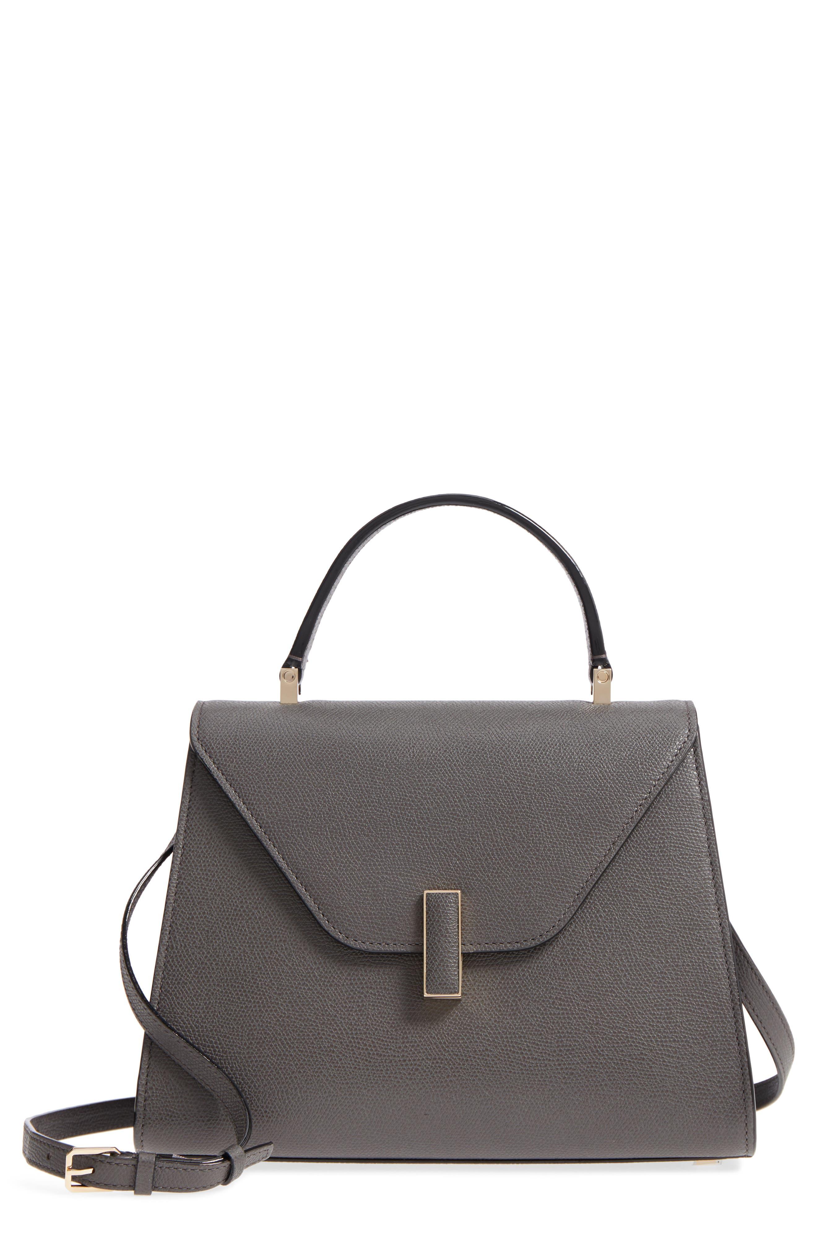 Iside Medium Top Handle Bag, Main, color, FUMO DI LONDRA