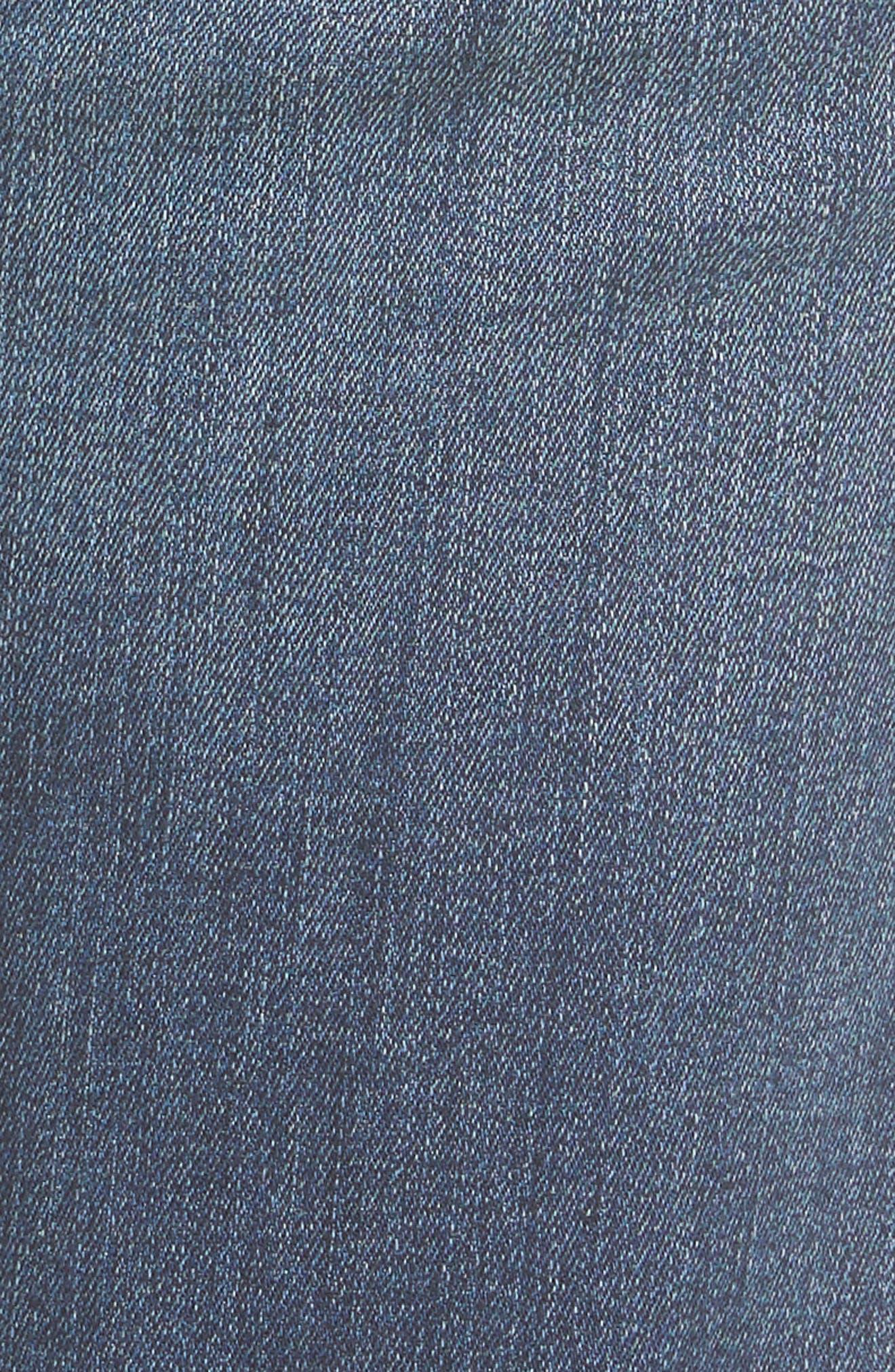 Catherine Colorblock Slim Boyfriend Jeans,                             Alternate thumbnail 5, color,