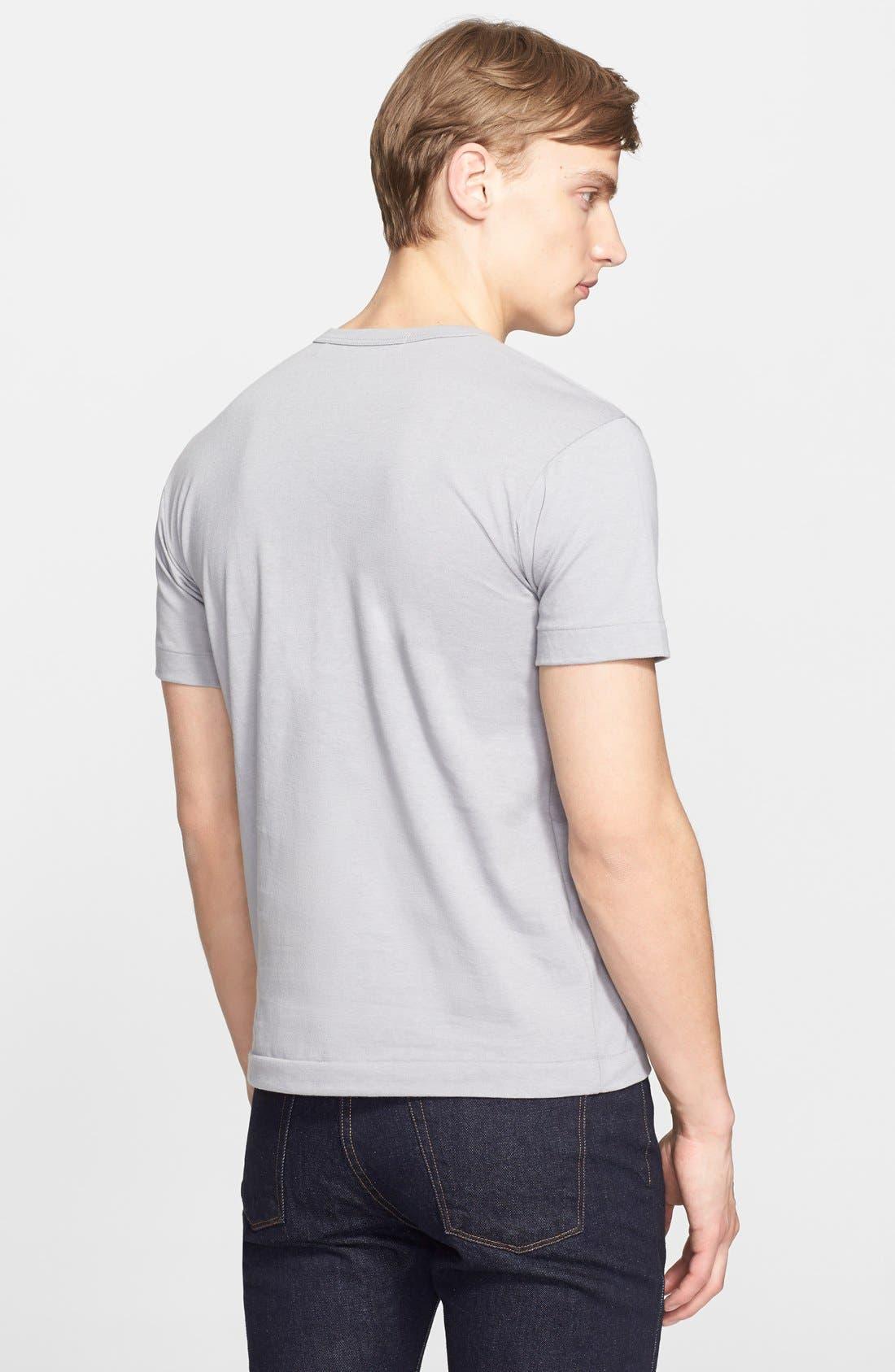 Cotton Jersey T-Shirt,                             Alternate thumbnail 2, color,                             020