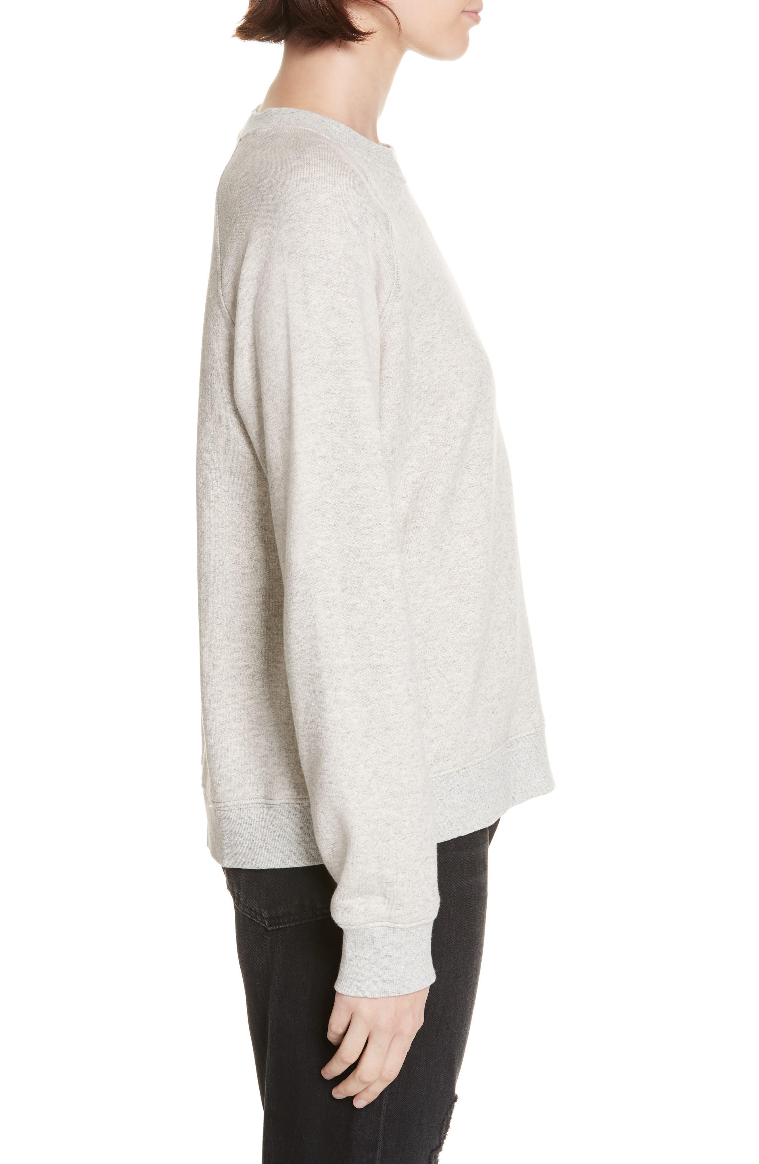 Sweatshirt,                             Alternate thumbnail 3, color,                             OATMEAL