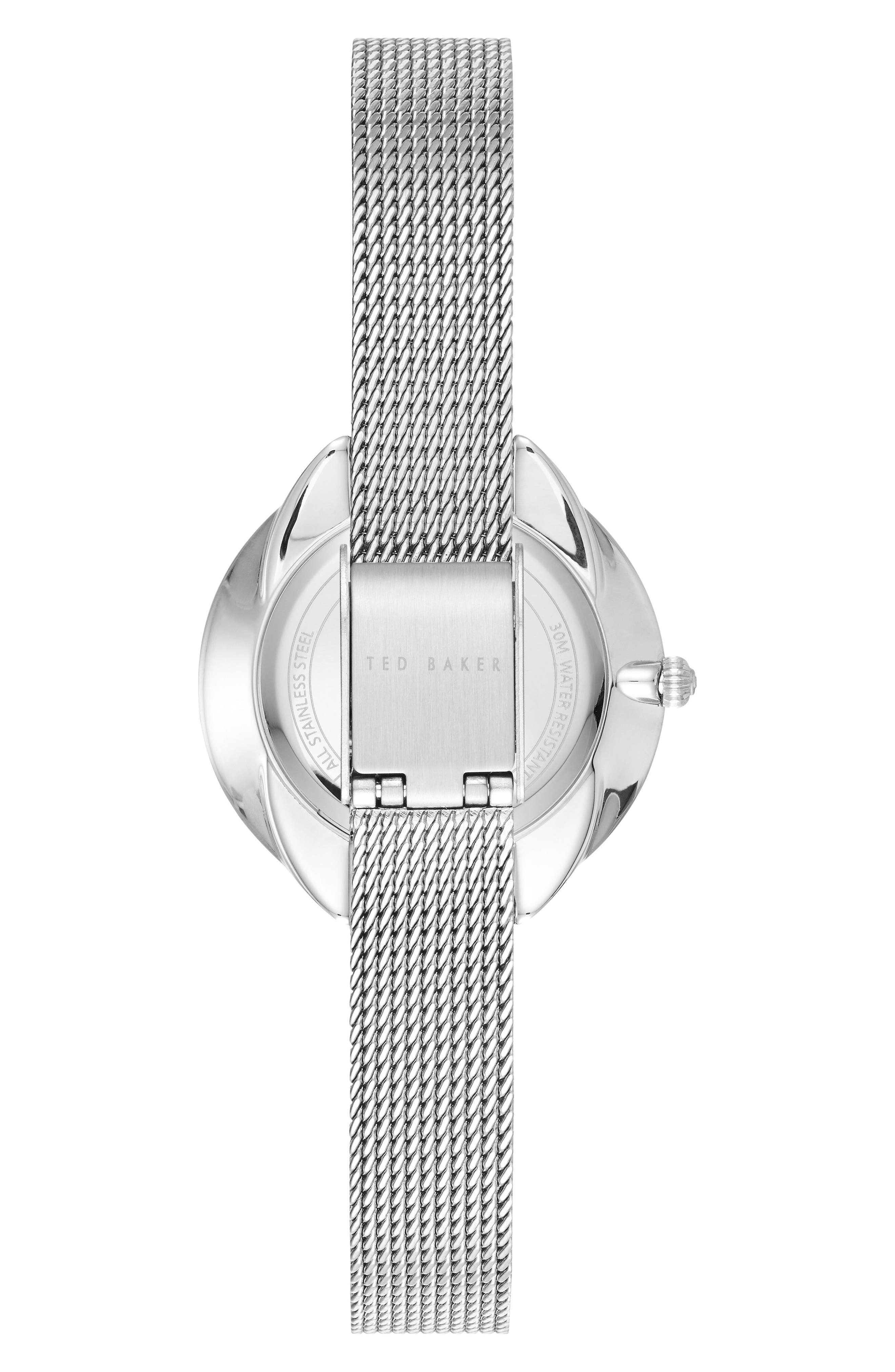 Elana Mesh Strap Watch, 30mm,                             Alternate thumbnail 2, color,                             040